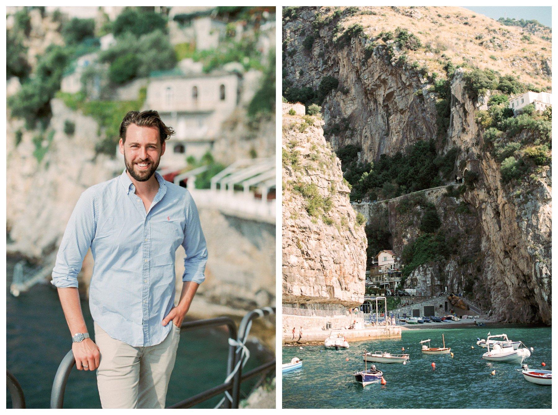 fine art travel photography of Priano, Amalfi Coast