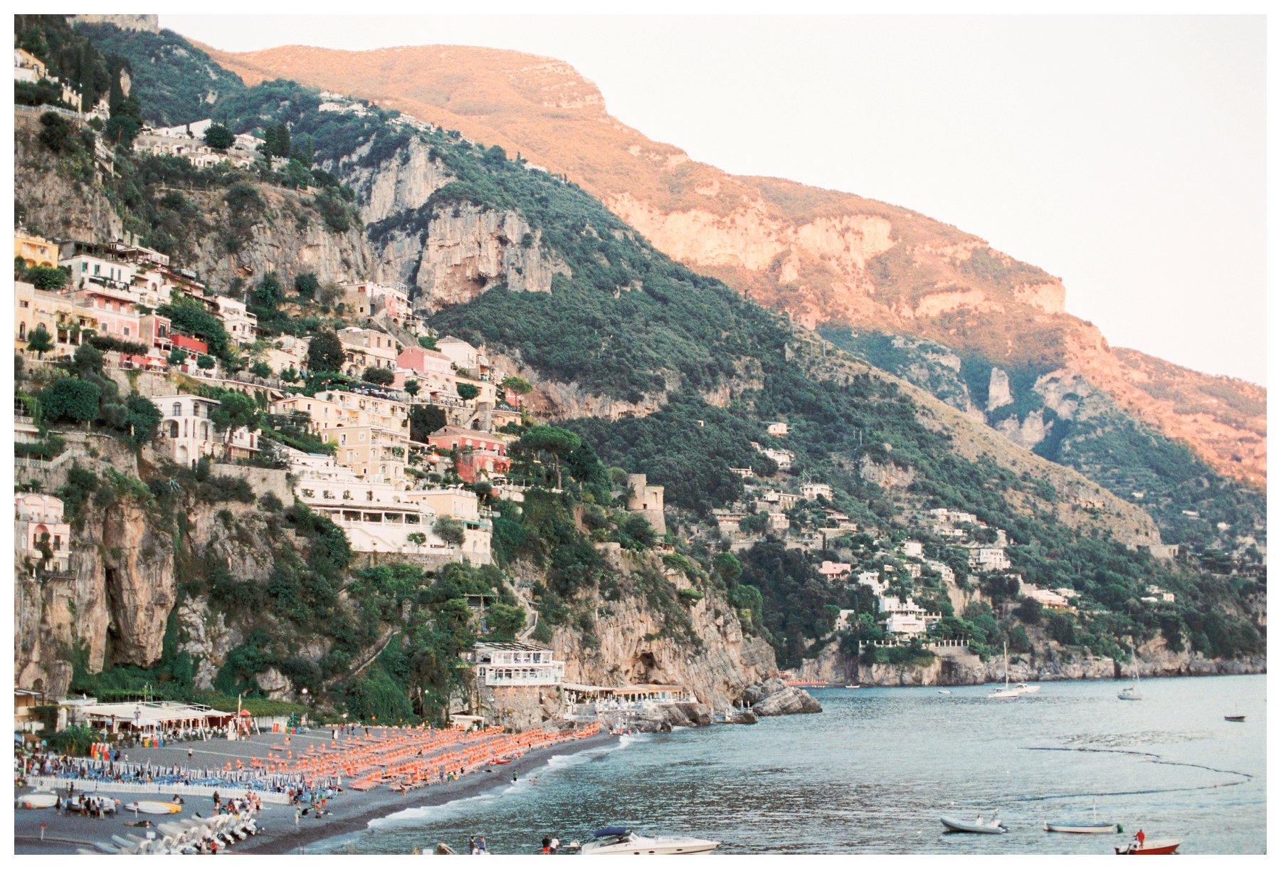 fine art travel photography of Positano, Amalfi Coast