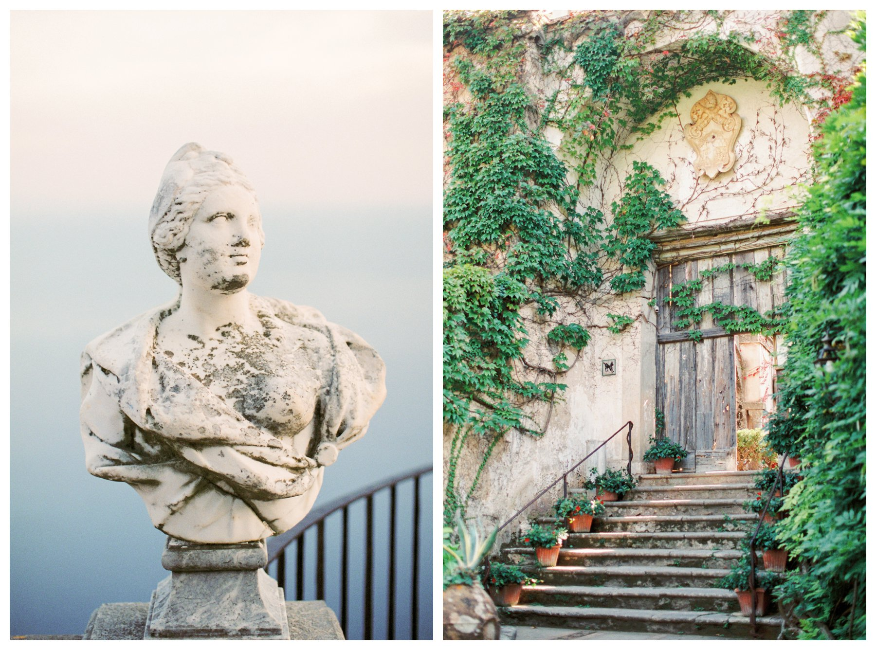 fine art travel photography of Villa Cimbrone in Ravello, Amalfi Coast