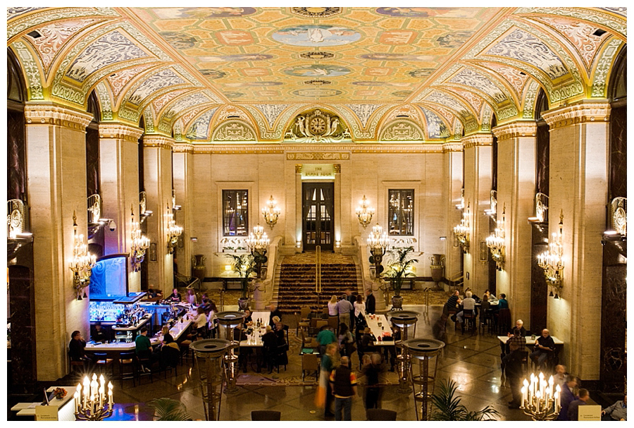 fine art photography of Palmer House, downtown Chicago