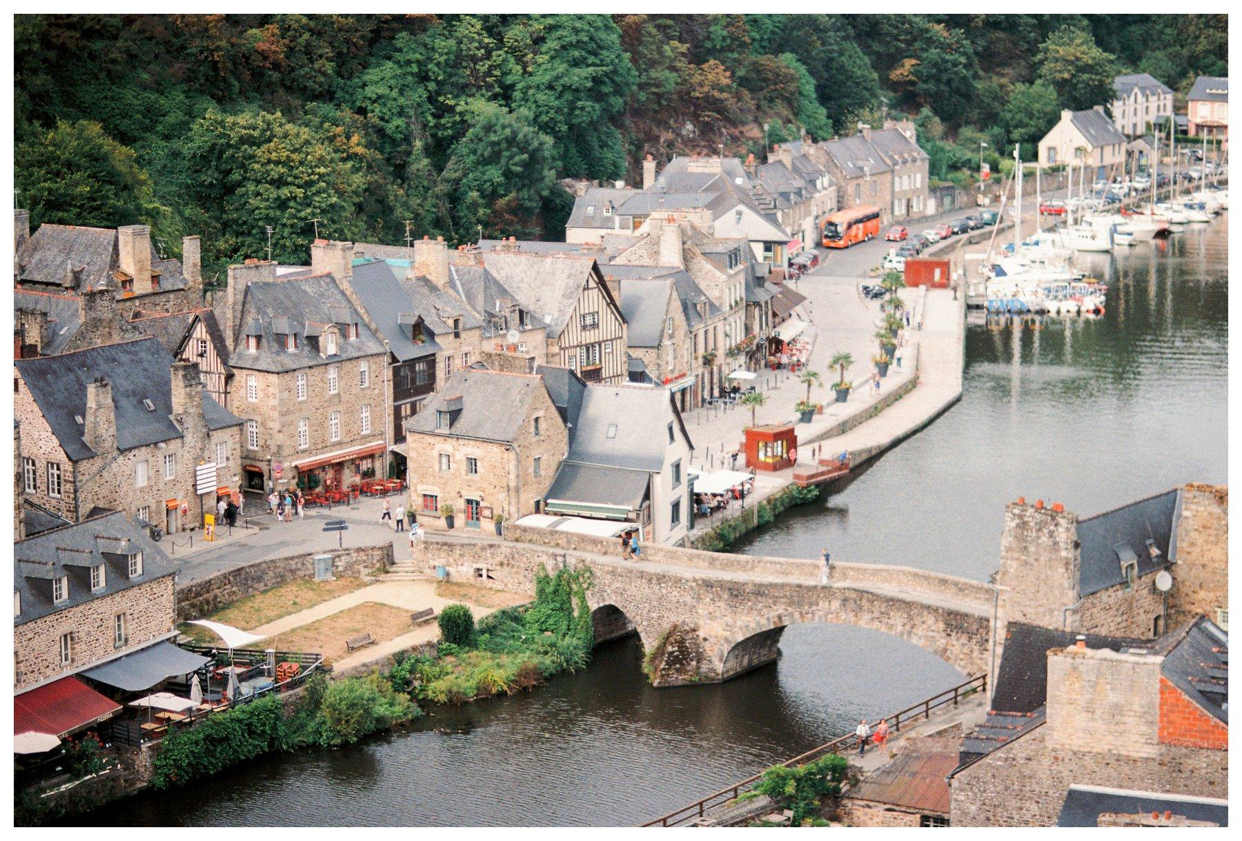 medieval Dinan, France