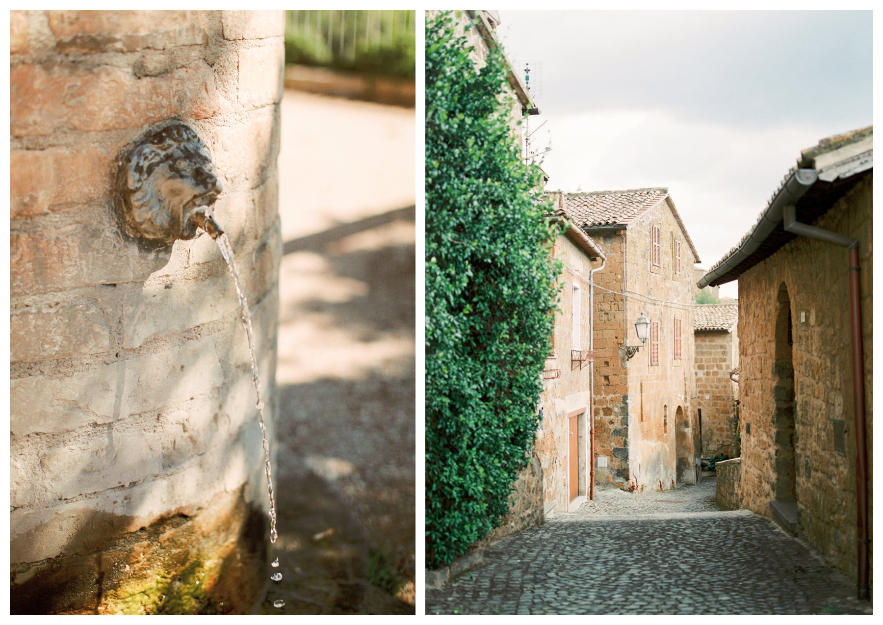 travel photography of the ancient village of Civito in Umbria, Italy
