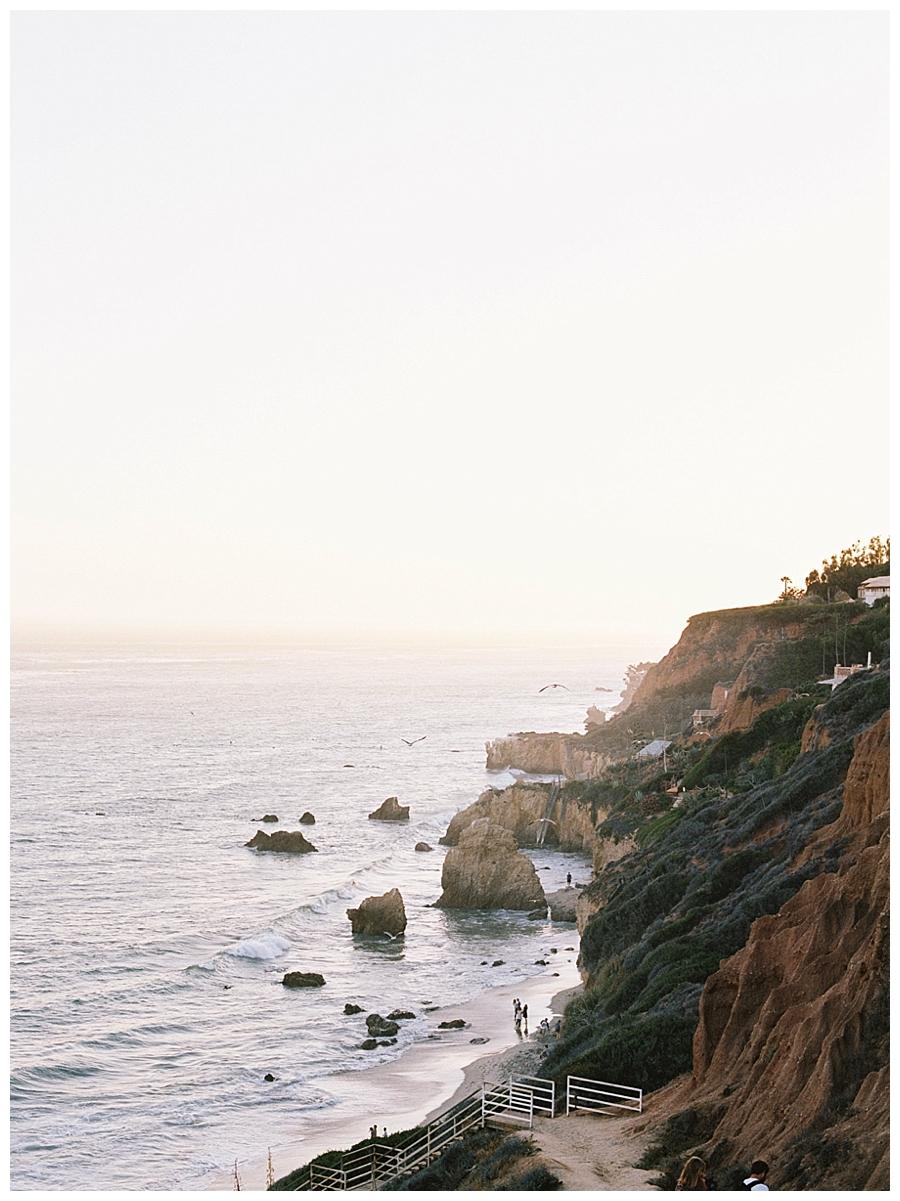 destination fine art wedding photography in Malibu, California