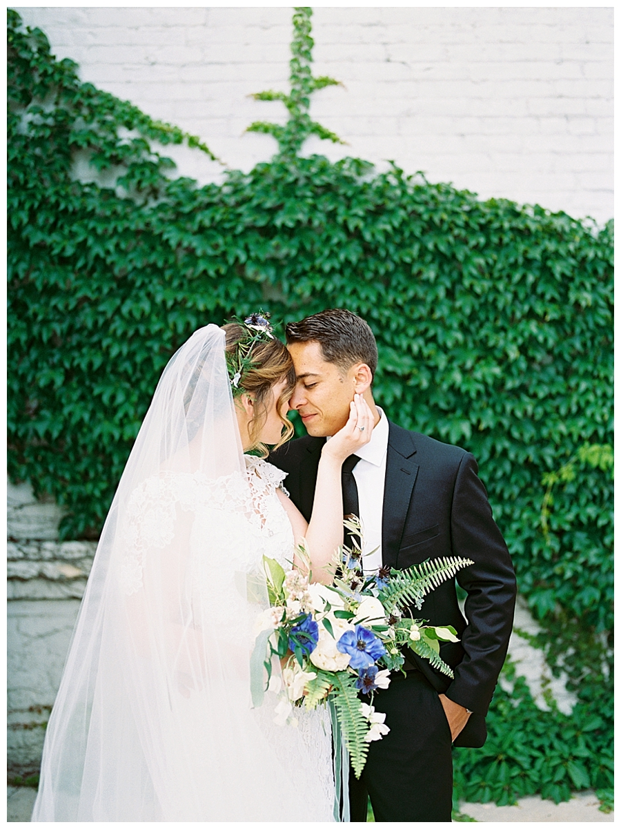 fine art wedding photography at the Pritzlaff Building in Milwaukee, Wisconsin