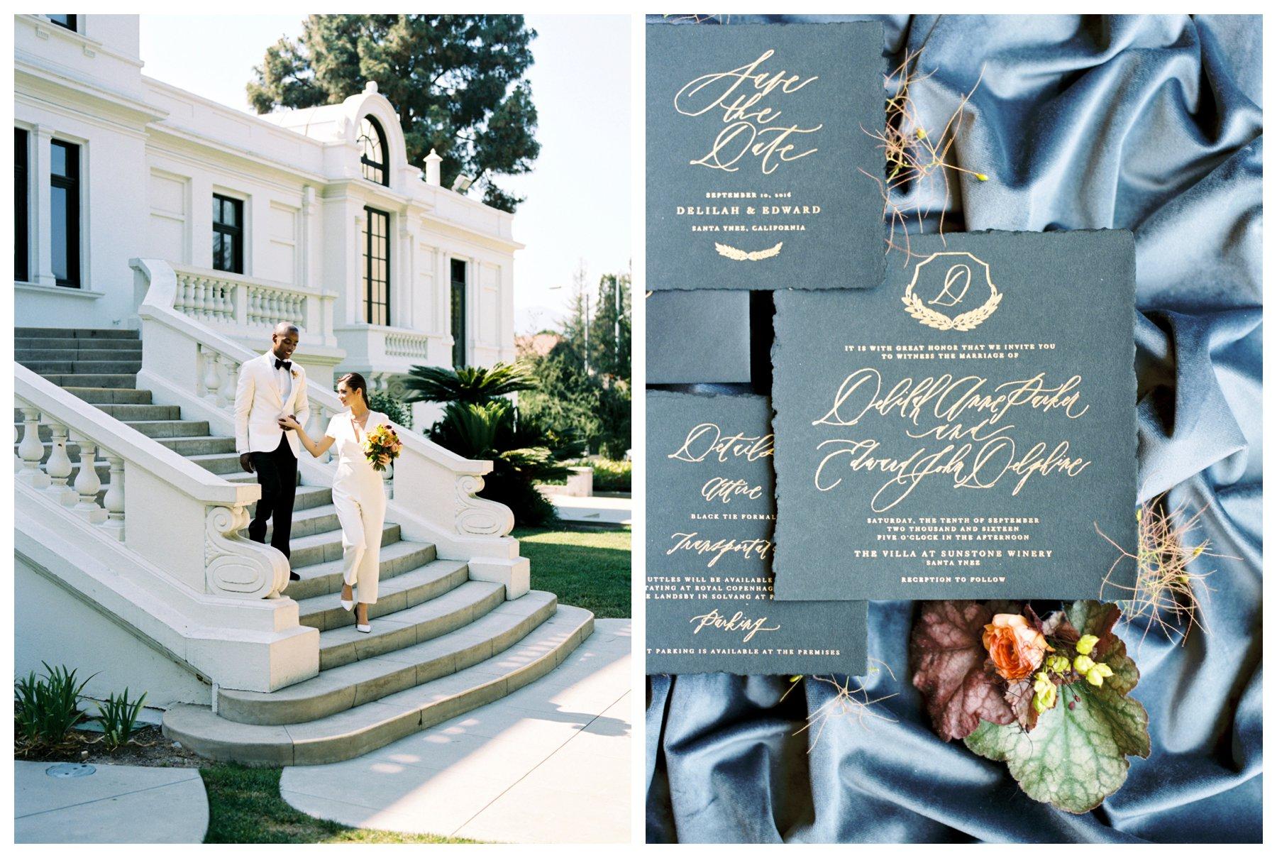 luxury California wedding photography