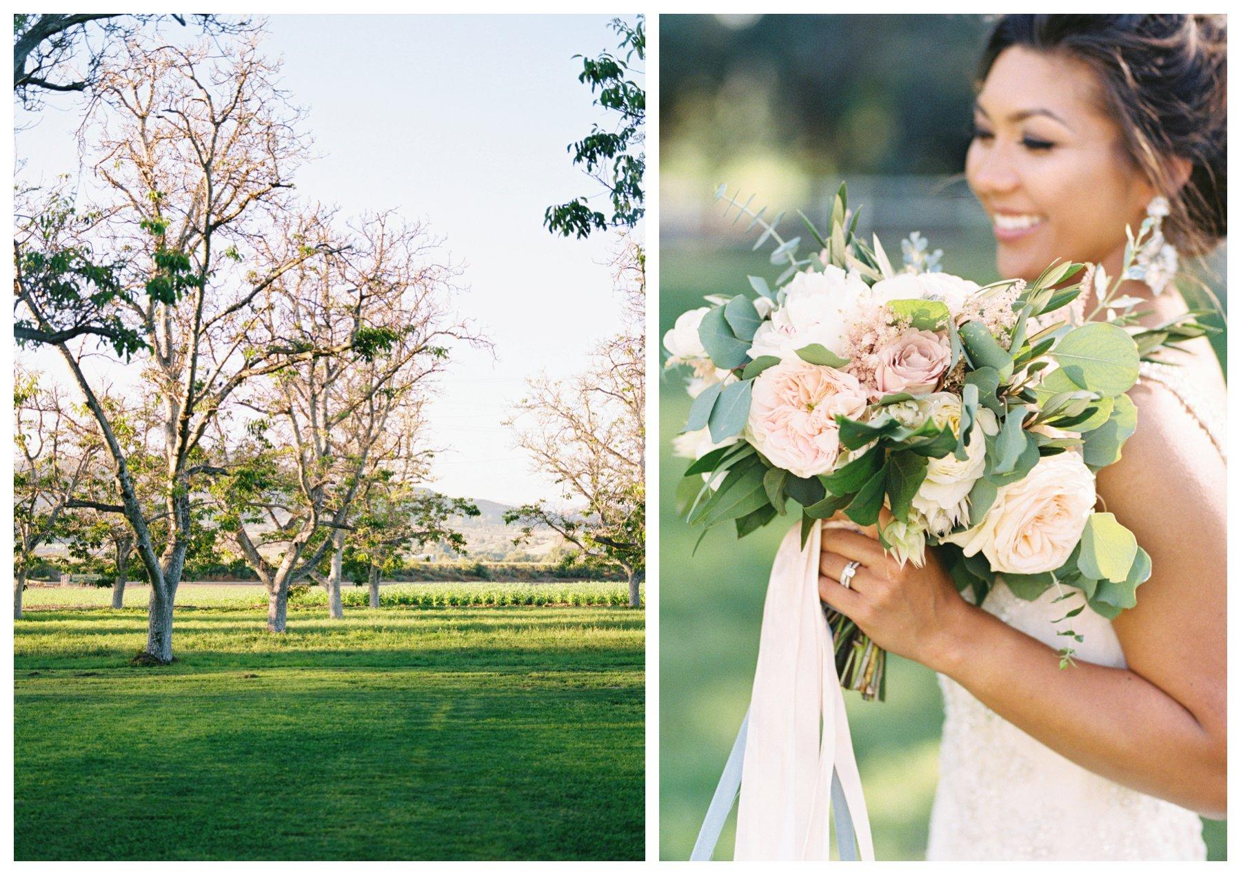 Outdoor luxury California wedding