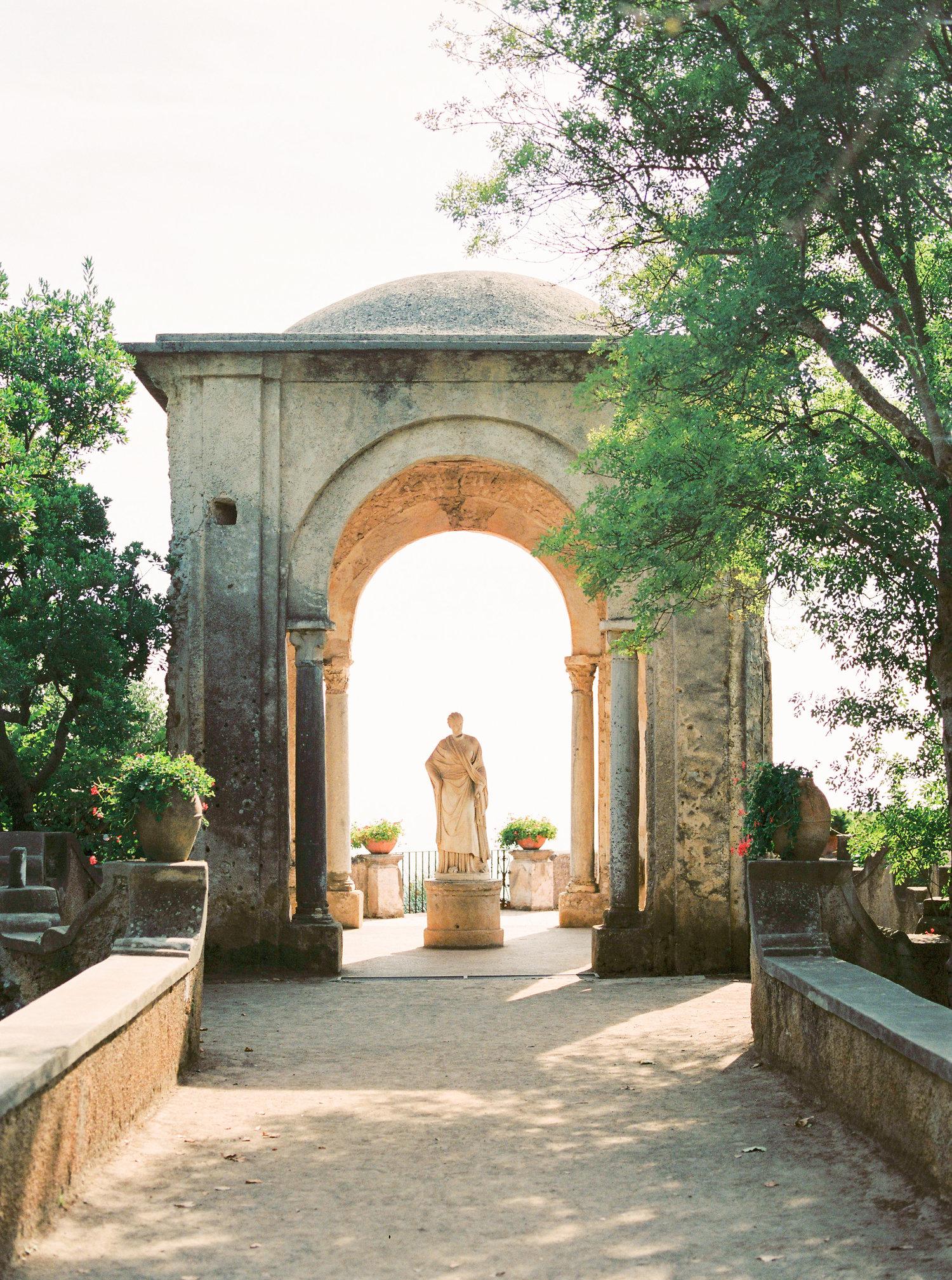 villa cimbrone destination wedding photography