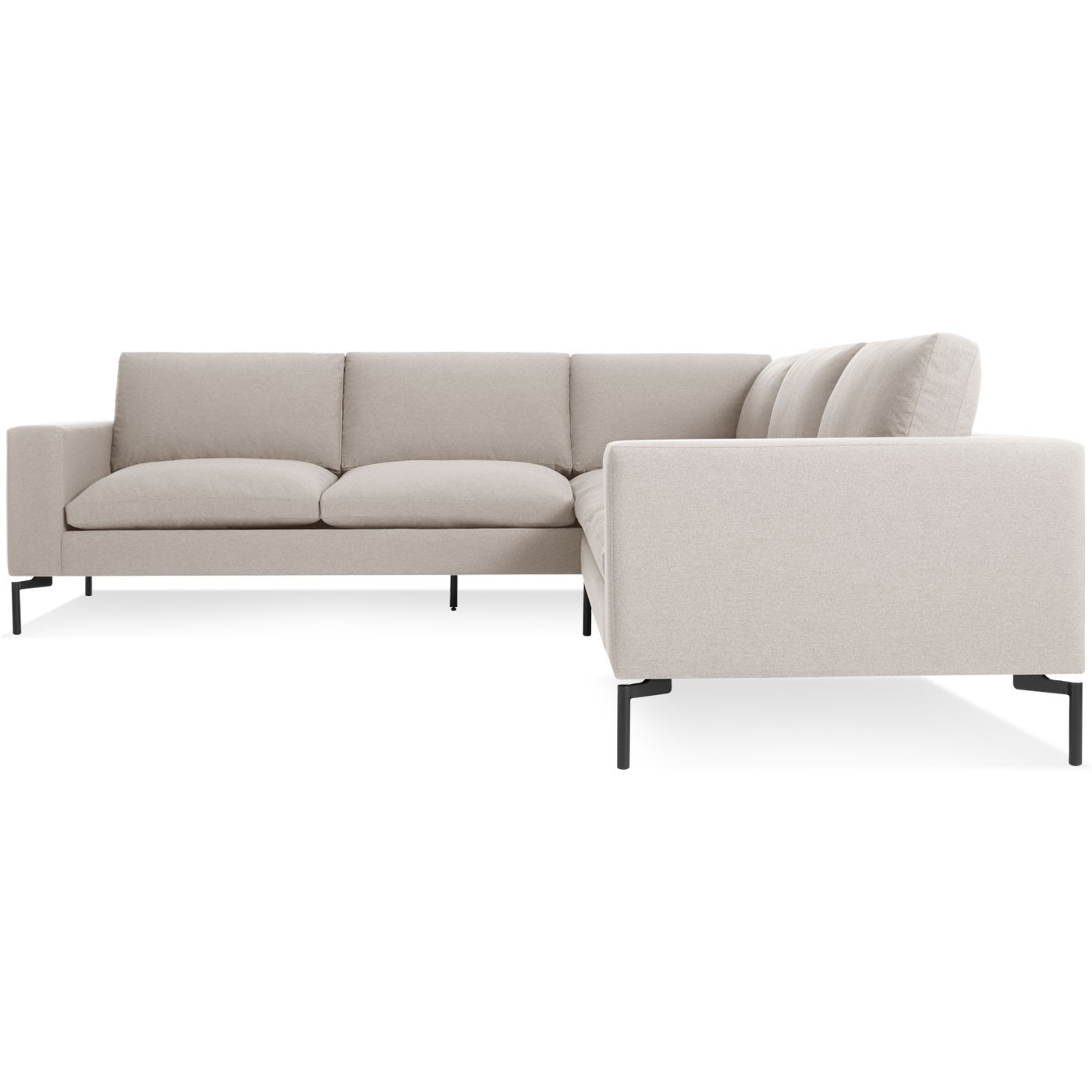 New Standard Sectional Sofa Small By Blu Dot Hub Modern Home Giftpost Hub Modern Home Gift