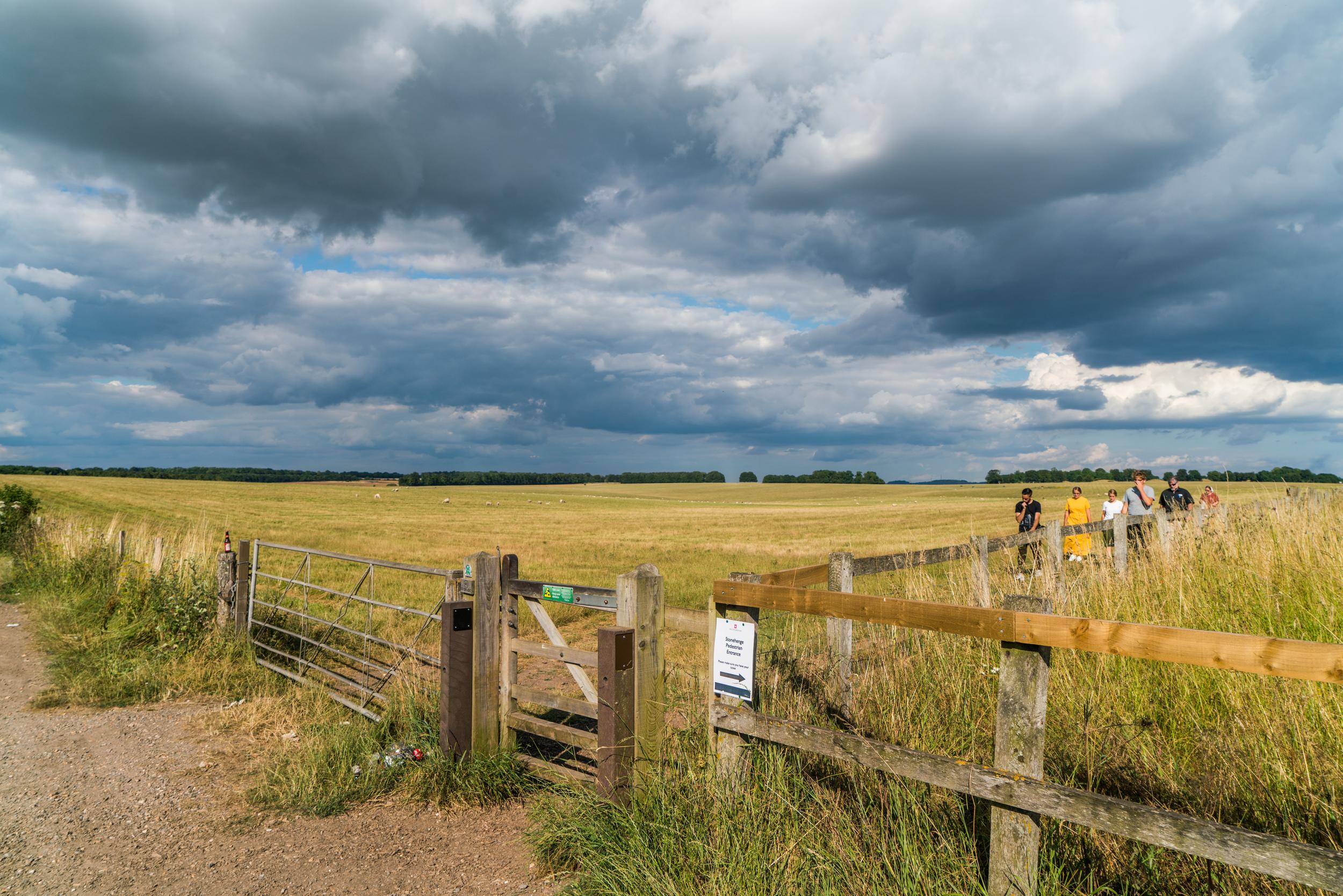 The farmer's gate