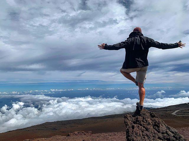 @roland.nt balanced atop Haleakalā