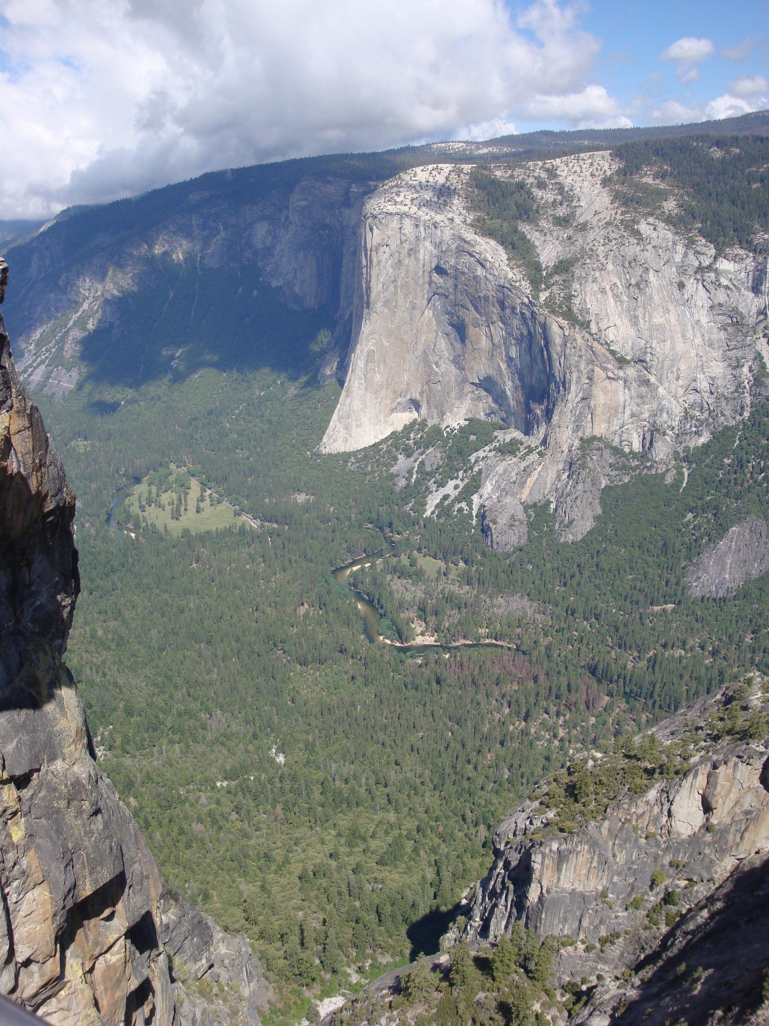 El Capitan - June 2008 - As viewed from Taft Point.