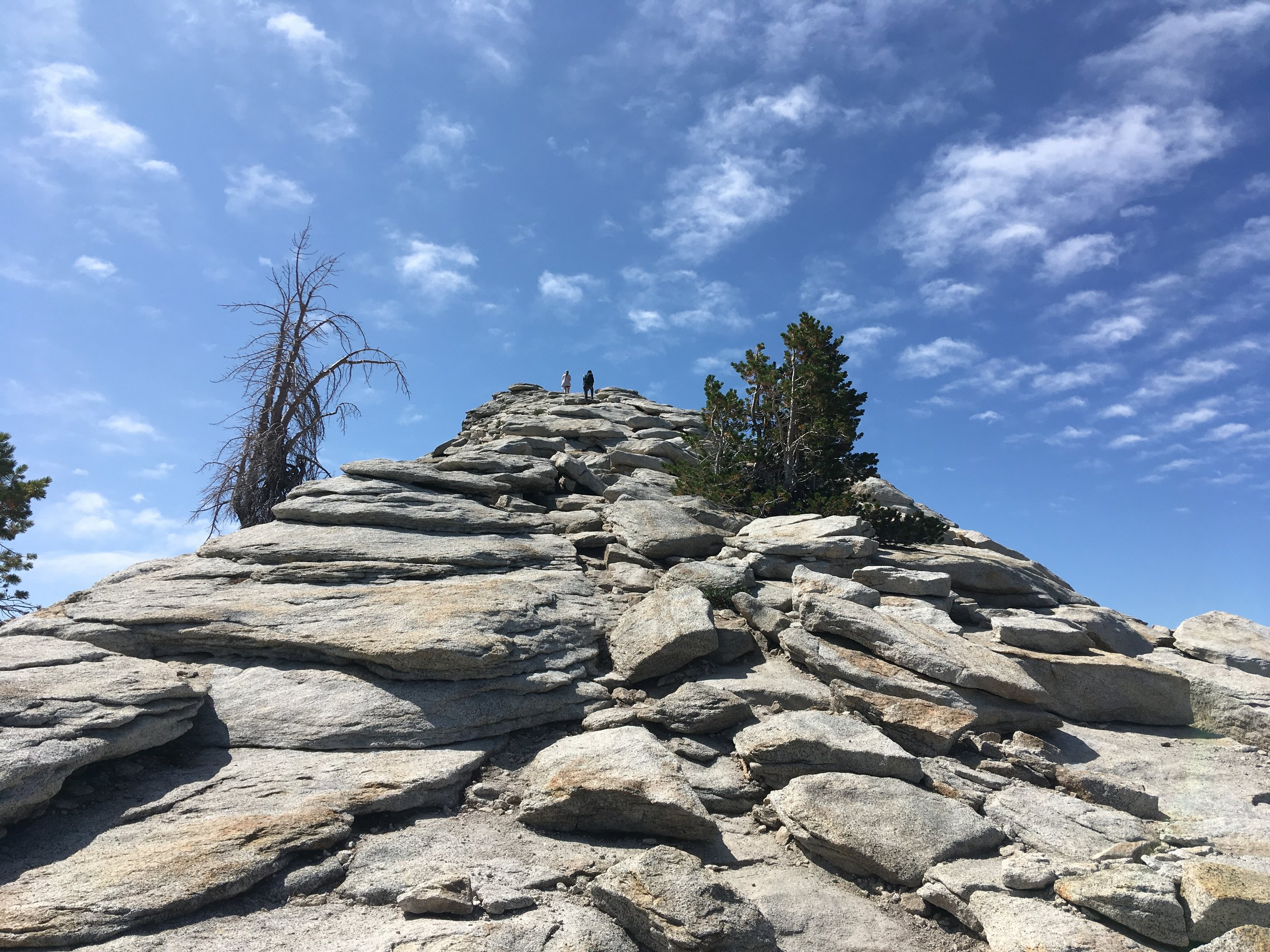 Clouds Rest - September 2019 - Final ascent to the top of Clouds Rest
