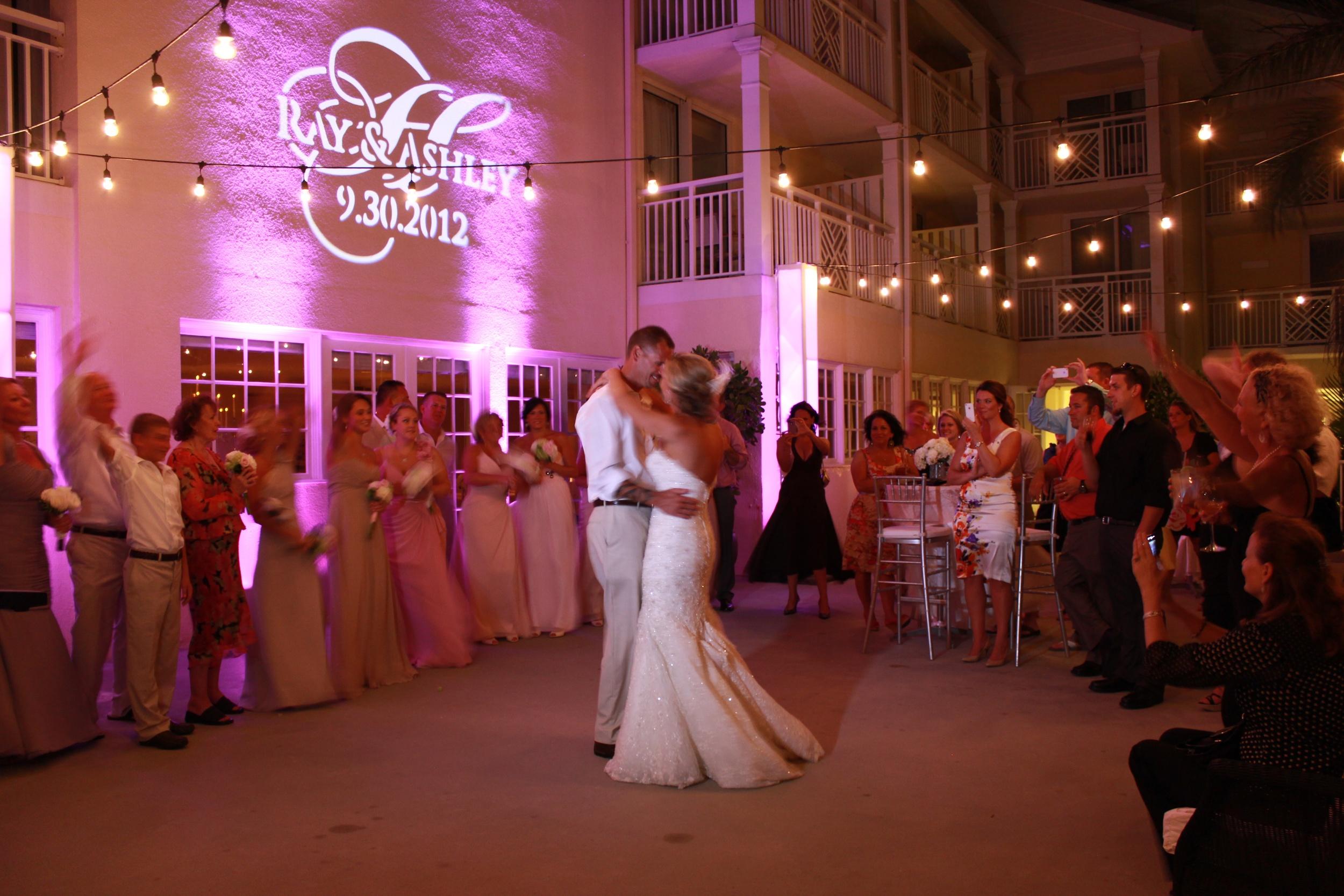 Key West Wedding Monogram