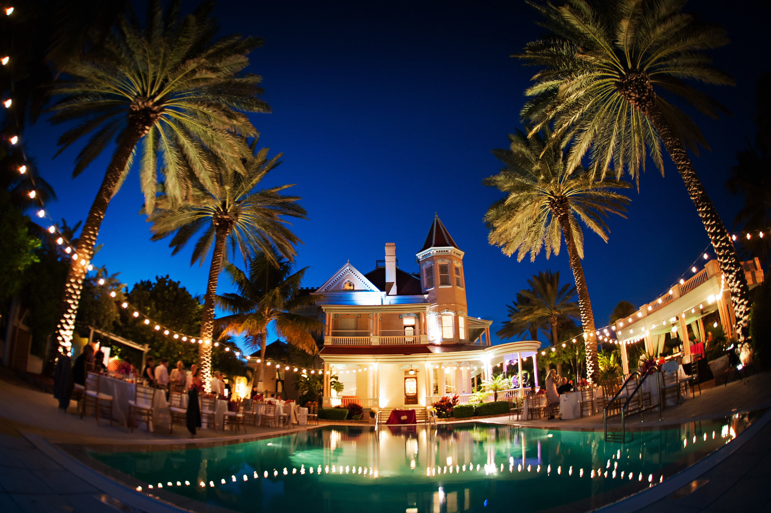 southernmost mansion key west wedding