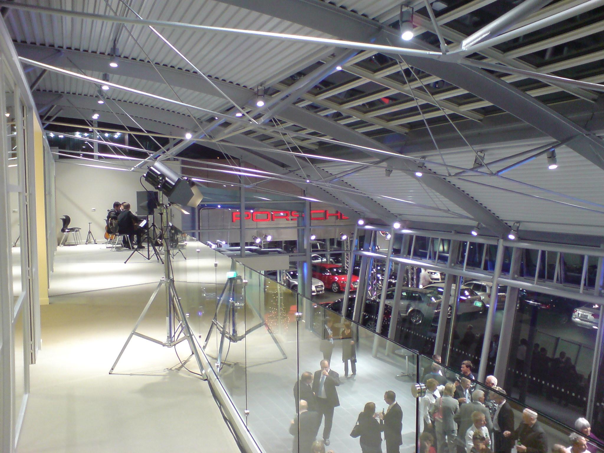 Armstrong Prestige AUDI Hanger Internal Mezzanine