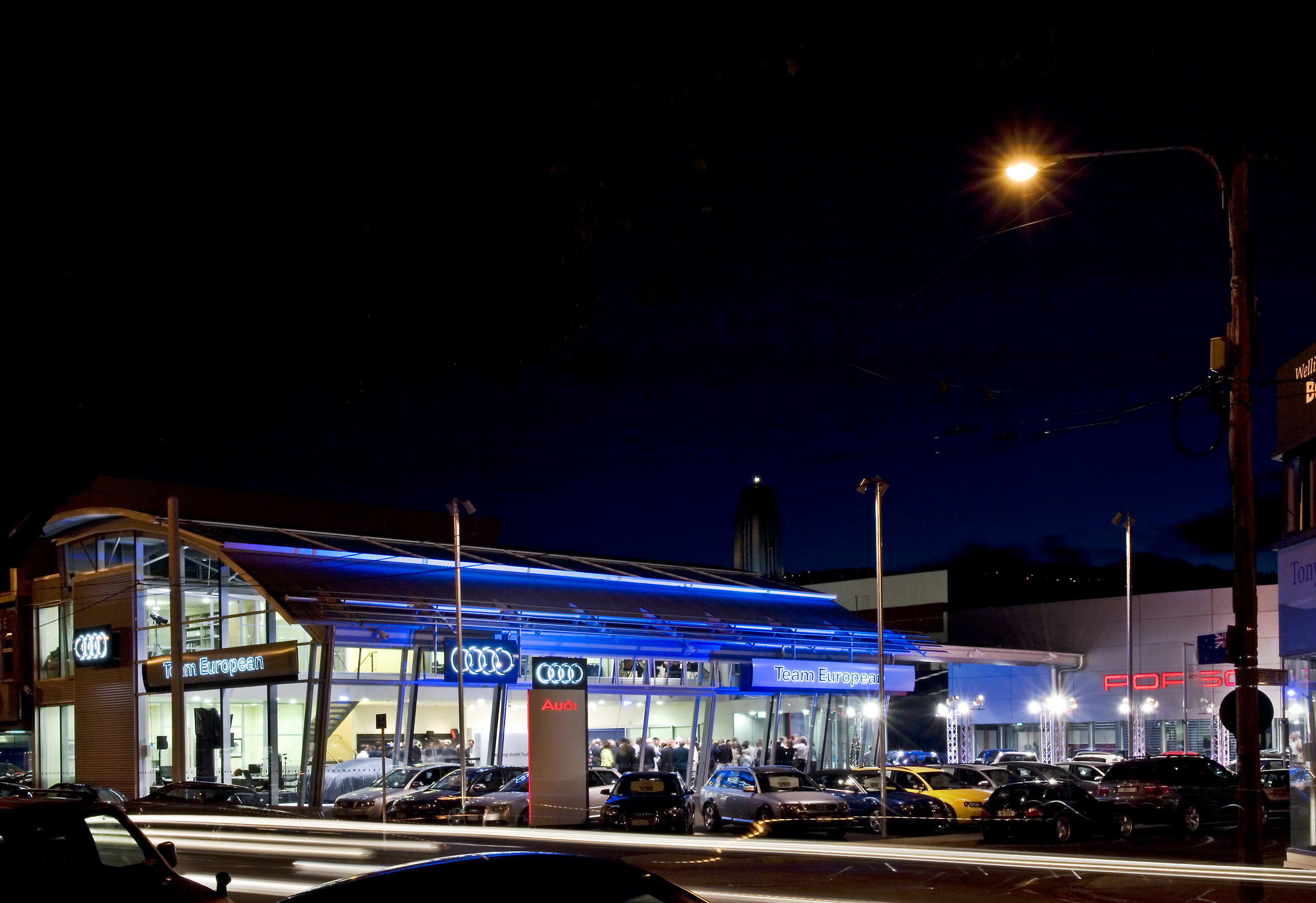 Armstrong Prestige AUDI Hanger