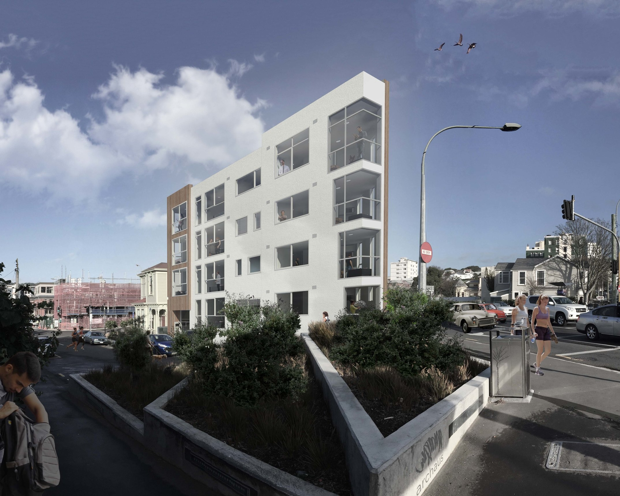 83 ABEL SMITH STREET BY ARCHAUS. PHOTOGRAPHY BY ANDY SPAIN. ABEL SMITH STREET X WILLIS STREET RENDER