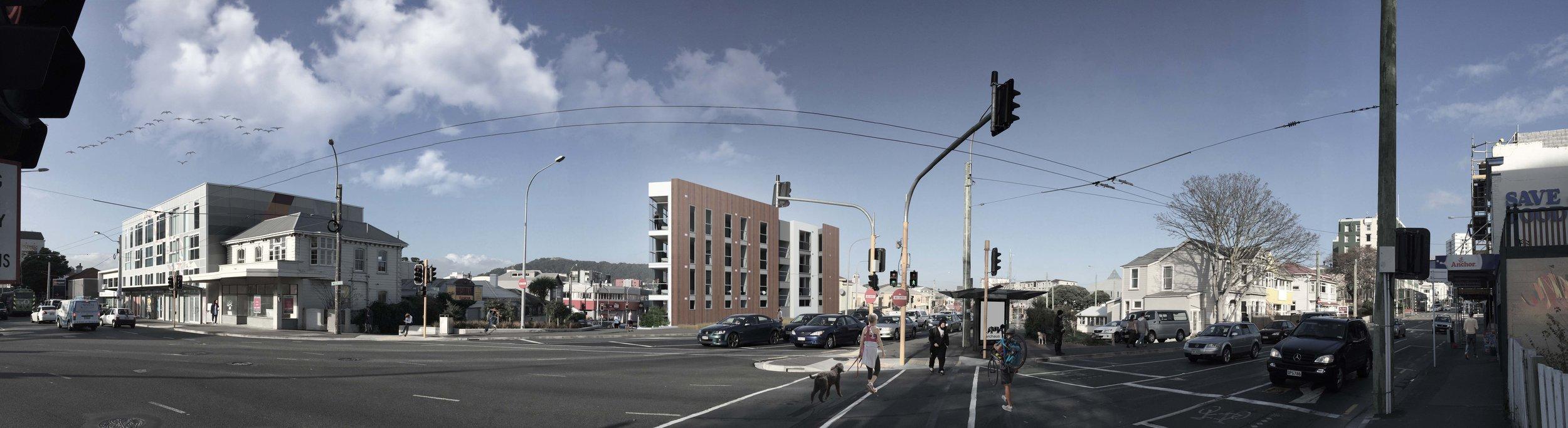 Abel Smith Street Panorama Render