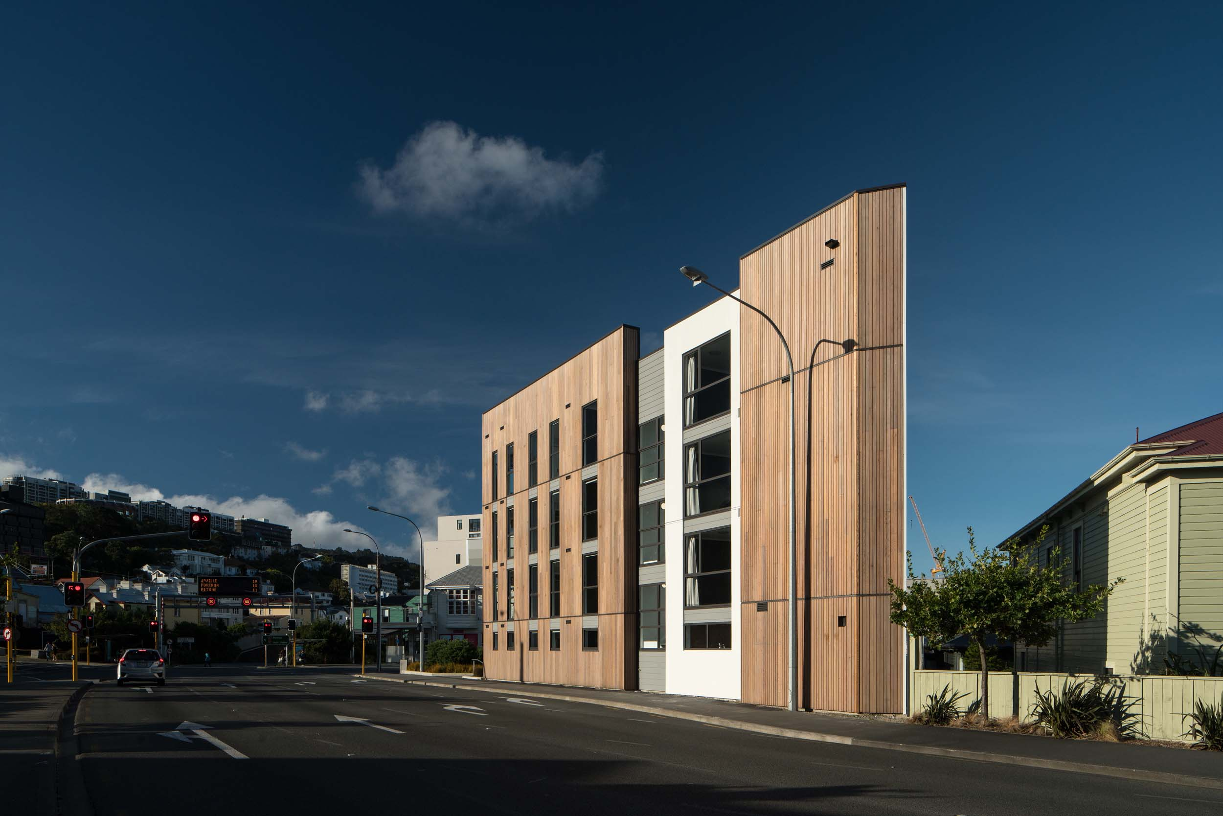 83 ABEL SMITH STREET BY ARCHAUS. EXTERIOR SHOT.