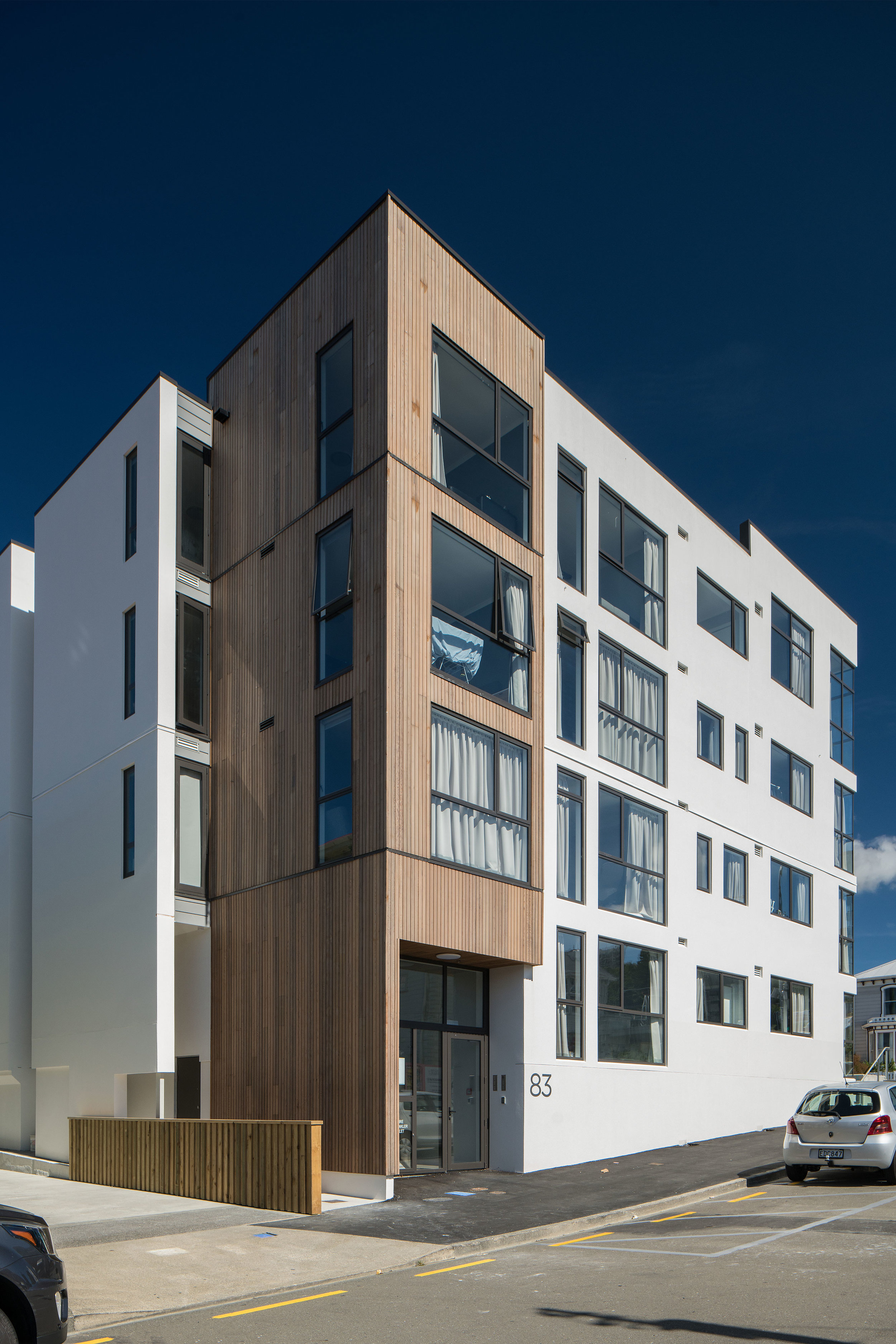 83 ABEL SMITH STREET BY ARCHAUS. ABEL SMITH STREET ENTRY SHOT