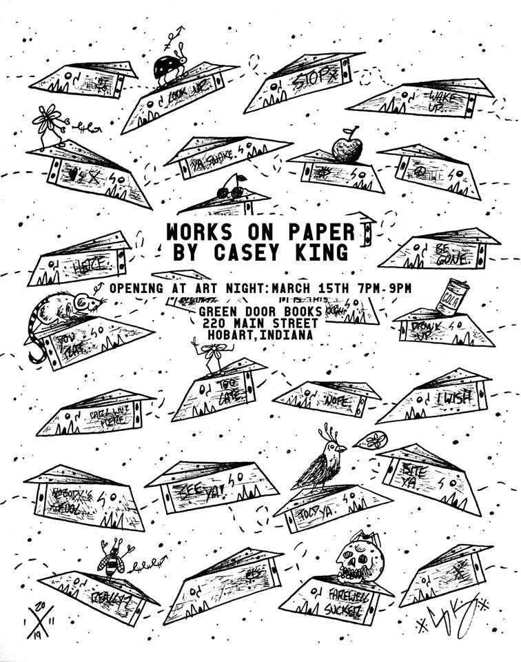 CASEY KING ART GREEN DOOR SHOW FLIER.jpg