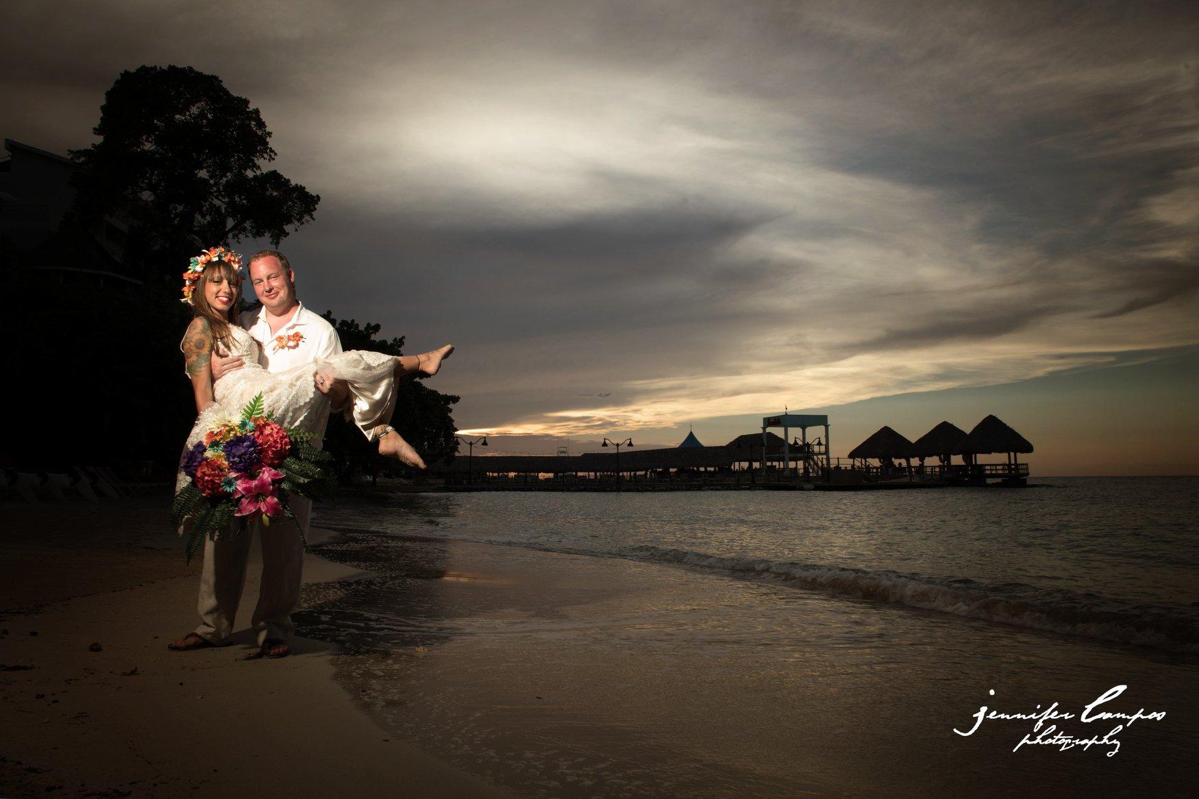 Jessica and Brian Gems | Sandals Ochi, Jamaica | September 18, 2018