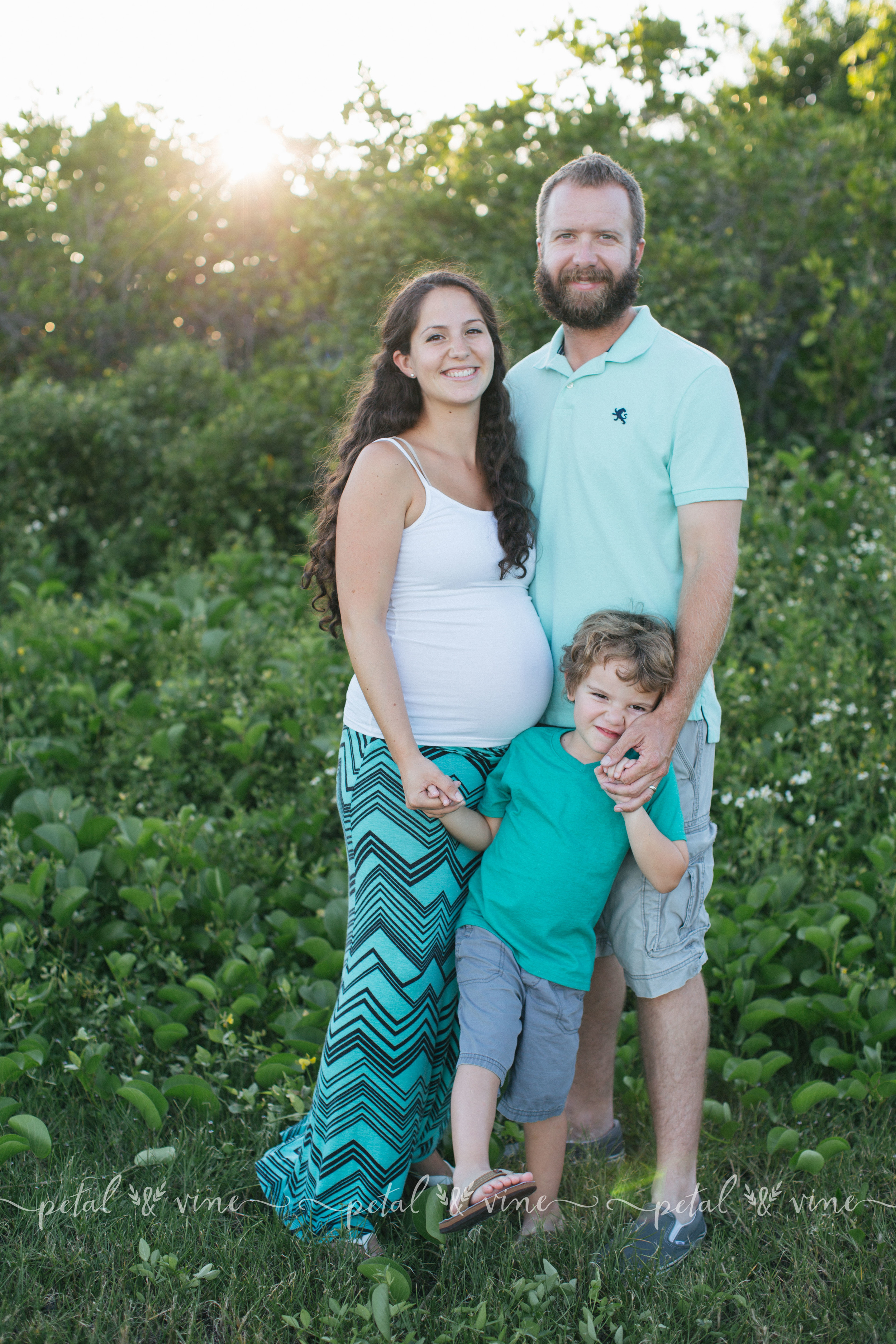 Family Mini Maternity Session