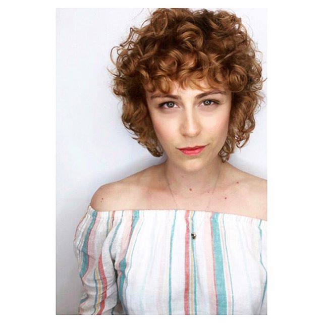 One good friend and the coolest motorhome living babe Sara looking so cool with her copper curly bangs. Thank you for all the fun hair Sam Francisco! ❤️ cleansed ( never shampooed) with #newwash and styled with salt spray for volume by @jayne_edosalon @mizmiyagi