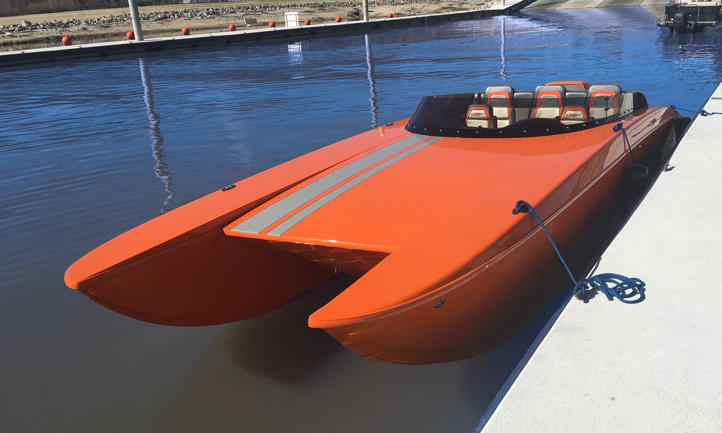 RPM 26 Redline orange by dock front.jpg