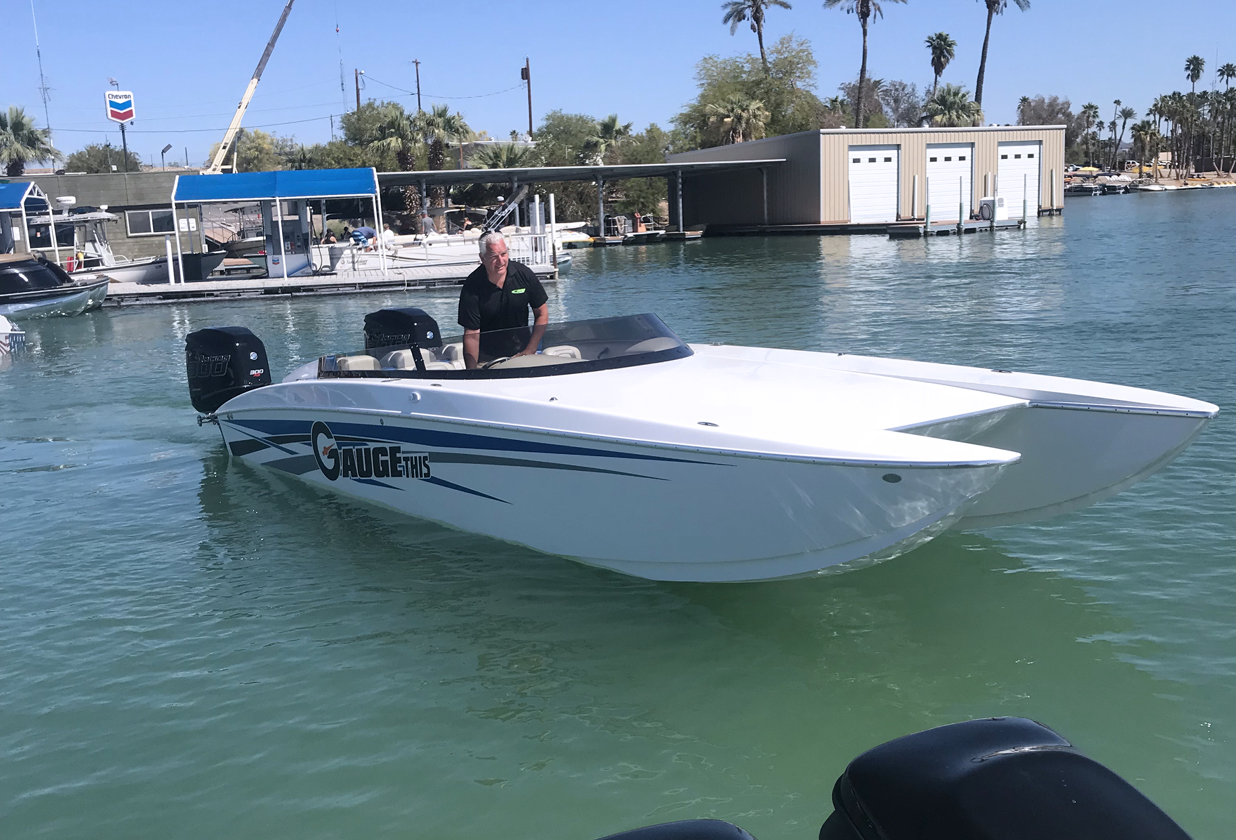 RPM 26 Redline Lavey Craft - Gauge This Joe driving by Pirate Cove.jpg