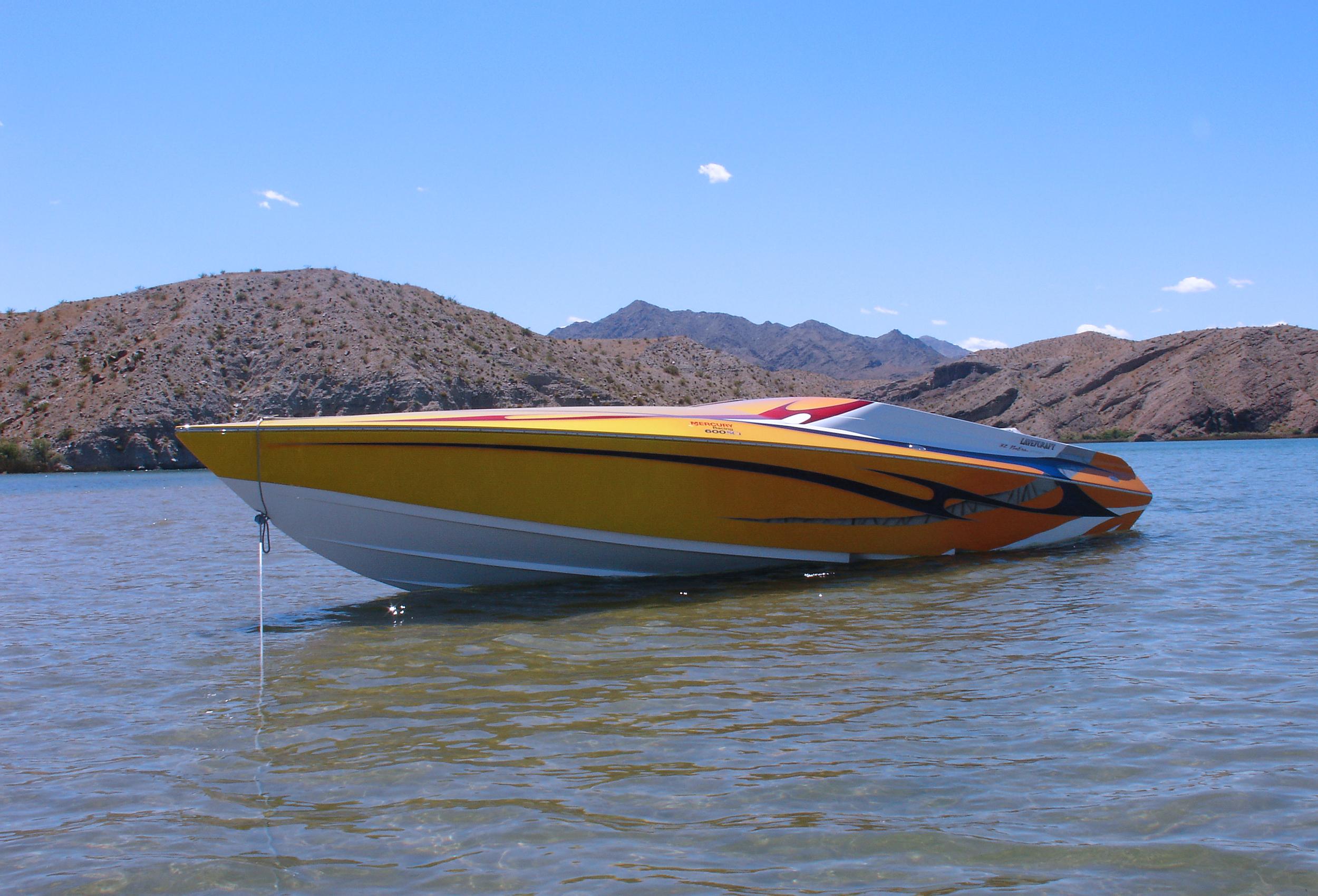 32 NuEra Lavey Craft - on lake.jpg