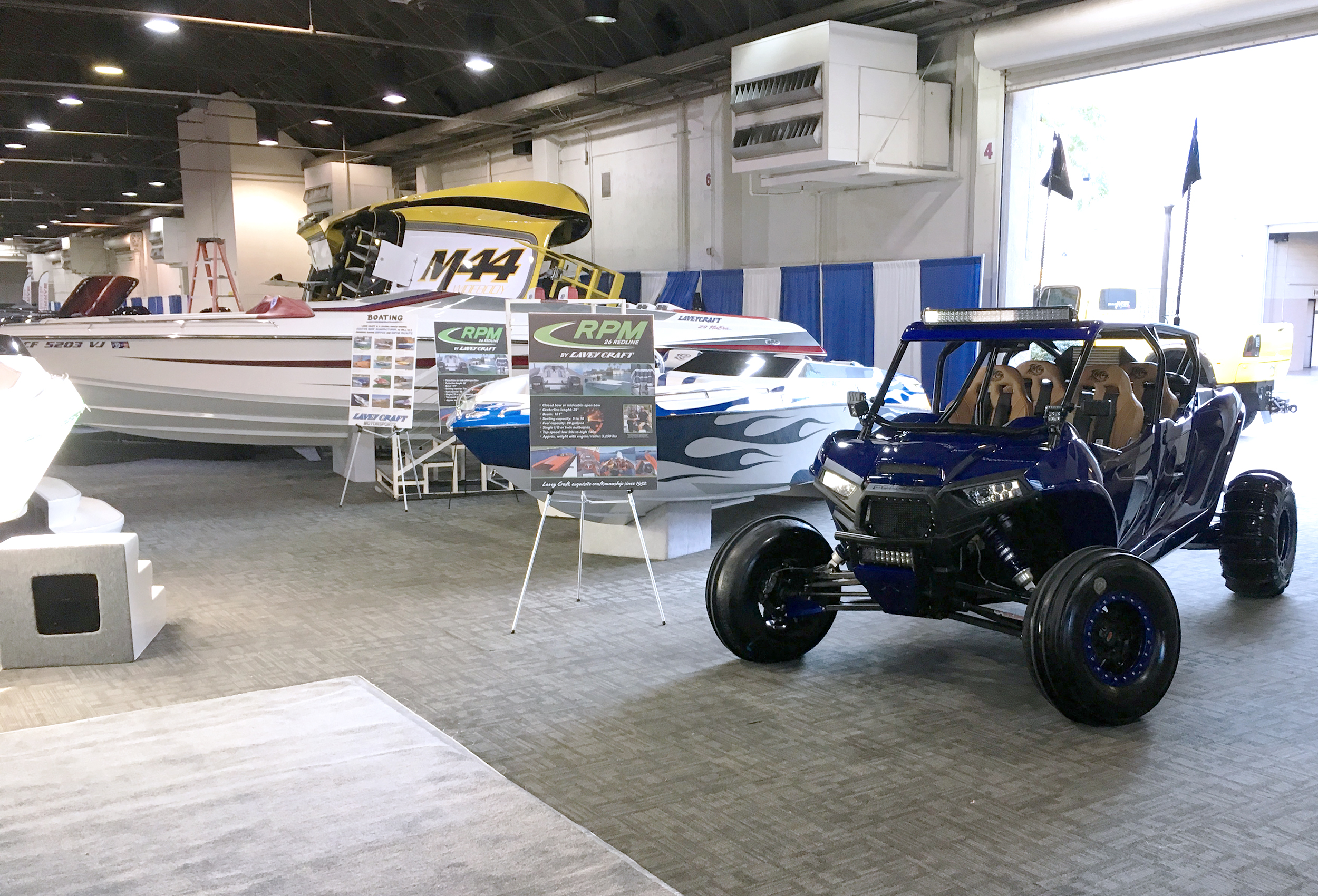 LA Boat Show 2019 - Lavey Craft booth - pic 2.jpg