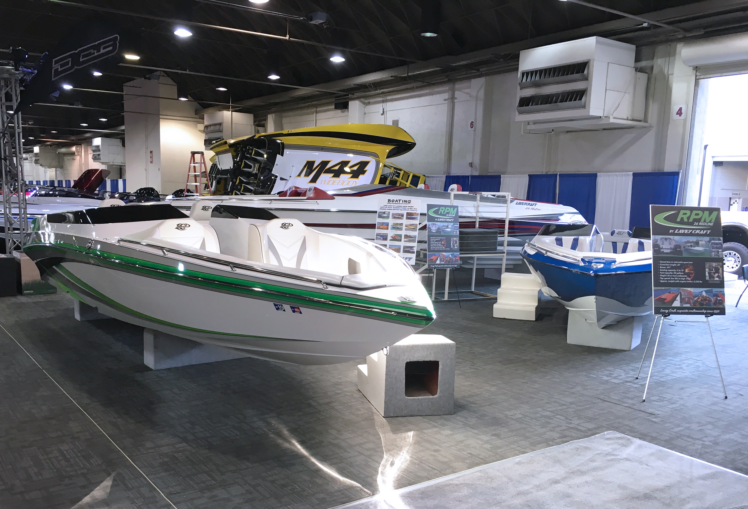LA Boat Show 2019 - Lavey Craft booth - pic 3.jpg