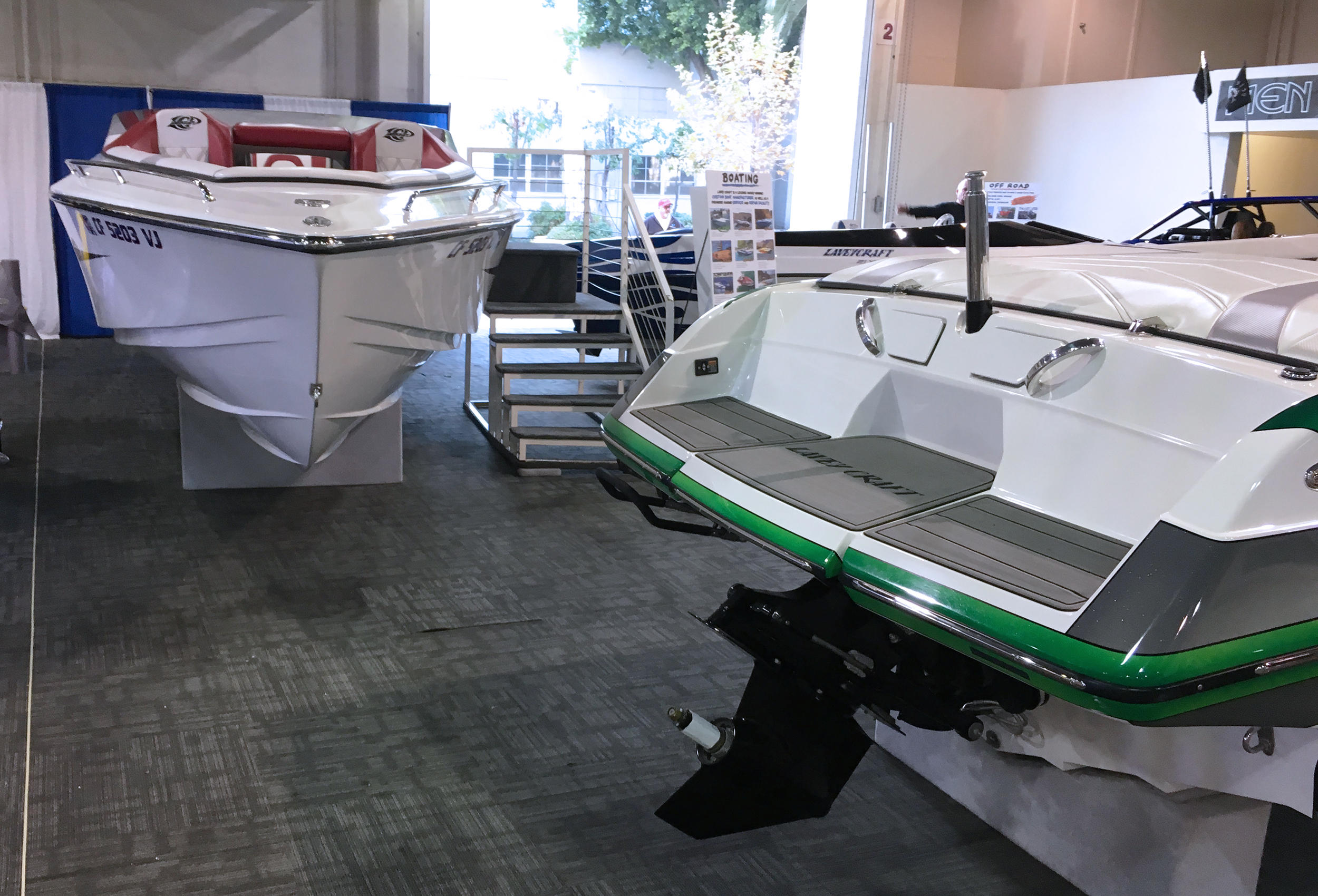 LA Boat Show 2019 - Lavey Craft booth - pic 4.jpg