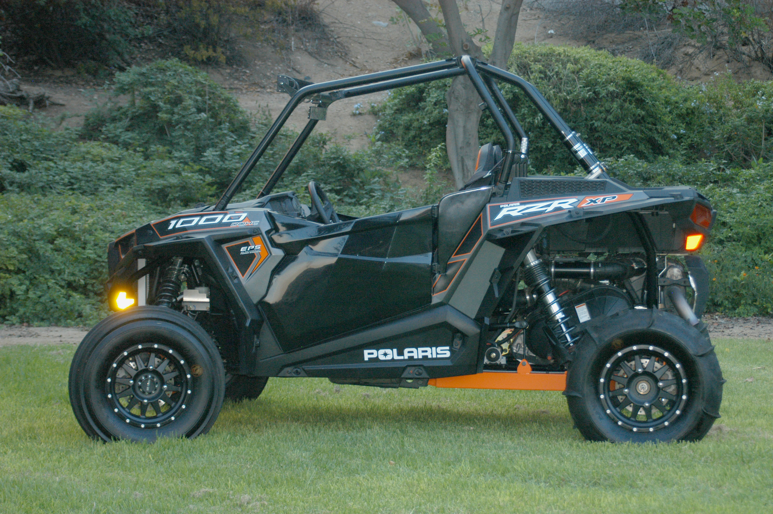 Polaris RZR XP1000 with custom doors from Lavey Craft.jpg