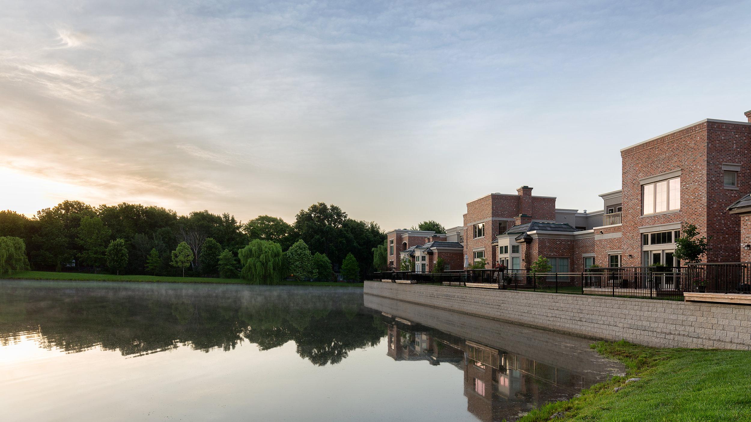 Pond enhances lifestyle