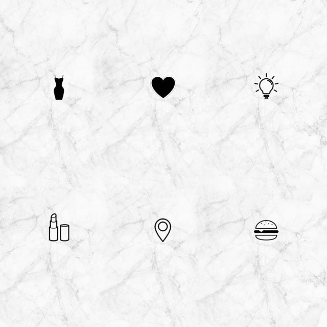 dear instagram story + highlight lovers, here's the first round of highlight icons (20-pack) to decorate your pages with and more to come ♡    my page is decorated with the rosegold (of course ;) . . . #retailproblems #highlights #marble #rosegold #blush #icons #boutique #digitalart #huyenatlife #retail #custom