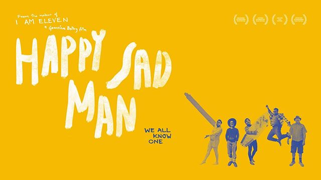 New poster artwork for HAPPY SAD MAN! So proud to be sharing these stories with the world. Big thanks to David, Johnny, Grant, Jake and Ivan for being so generous, honest and brave. Much gratitude to everyone who contributed to this project over many years. We are hitting the road to travel across Australia and we look forward to meeting many of you. Poster art by Elliott Bryce Foulkes.