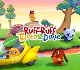 Ruff-Ruff Tweet and Dave
