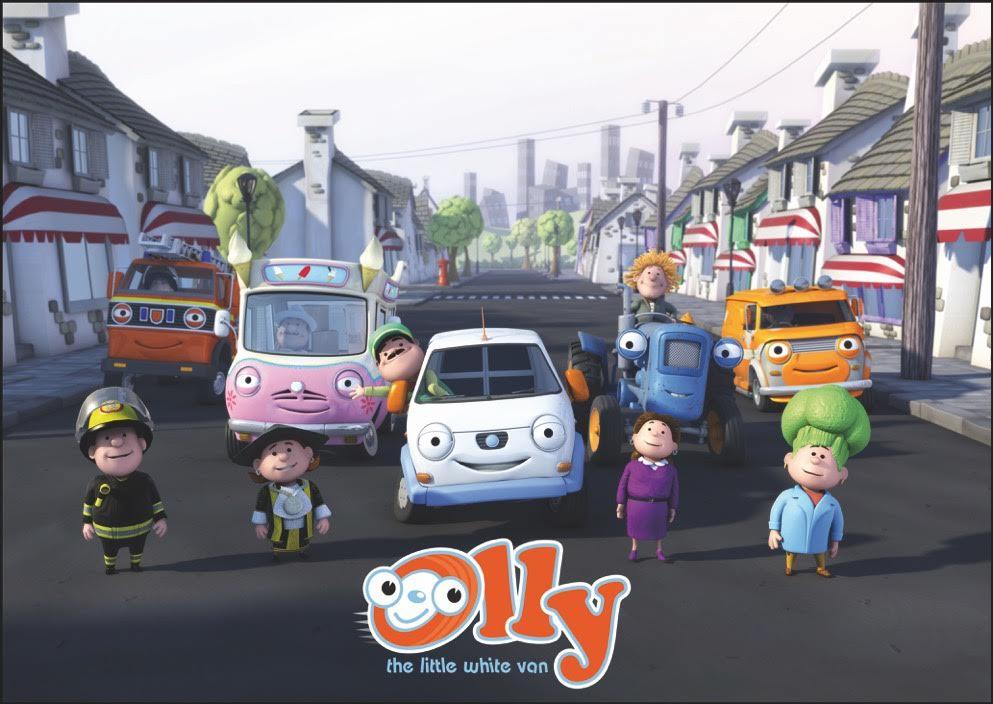 Olly, The Little White Van