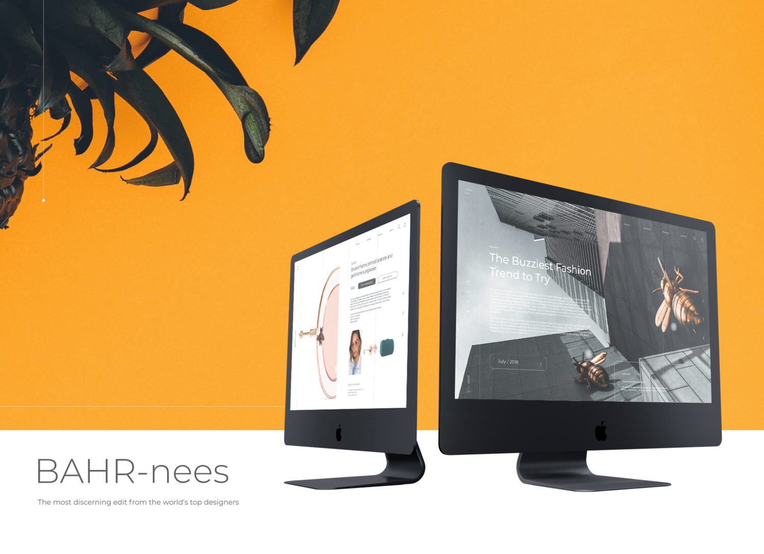 BAHR-ness - The new design project aims to reinvent luxury marketing for younger shoppers.