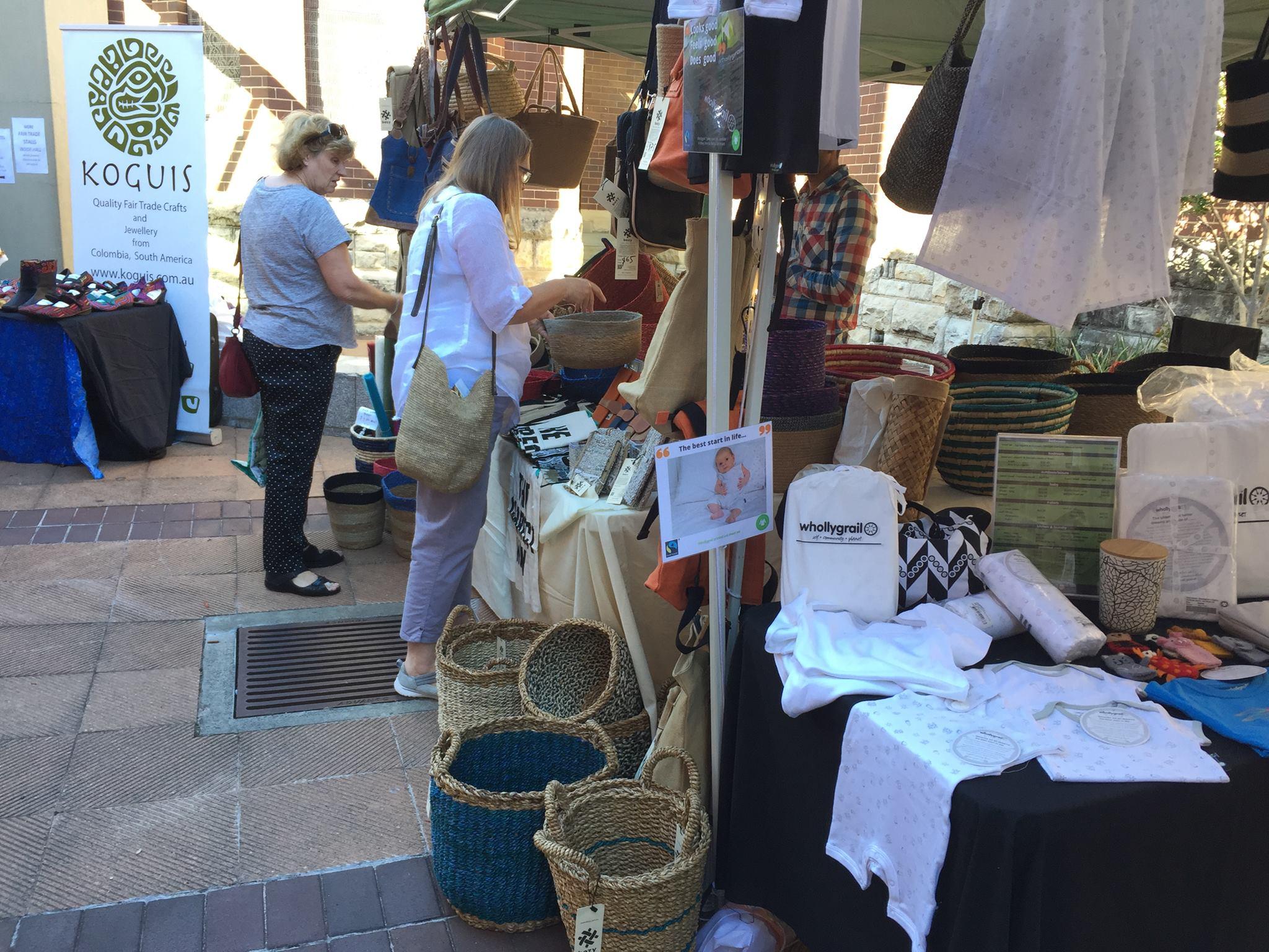 Hills fair trade market