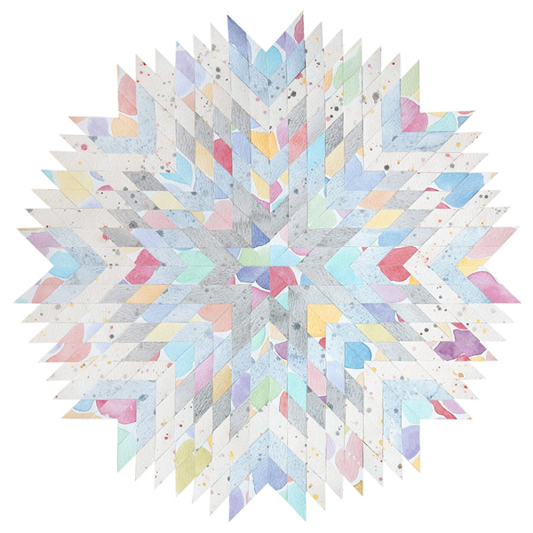 Watercolour Starburst