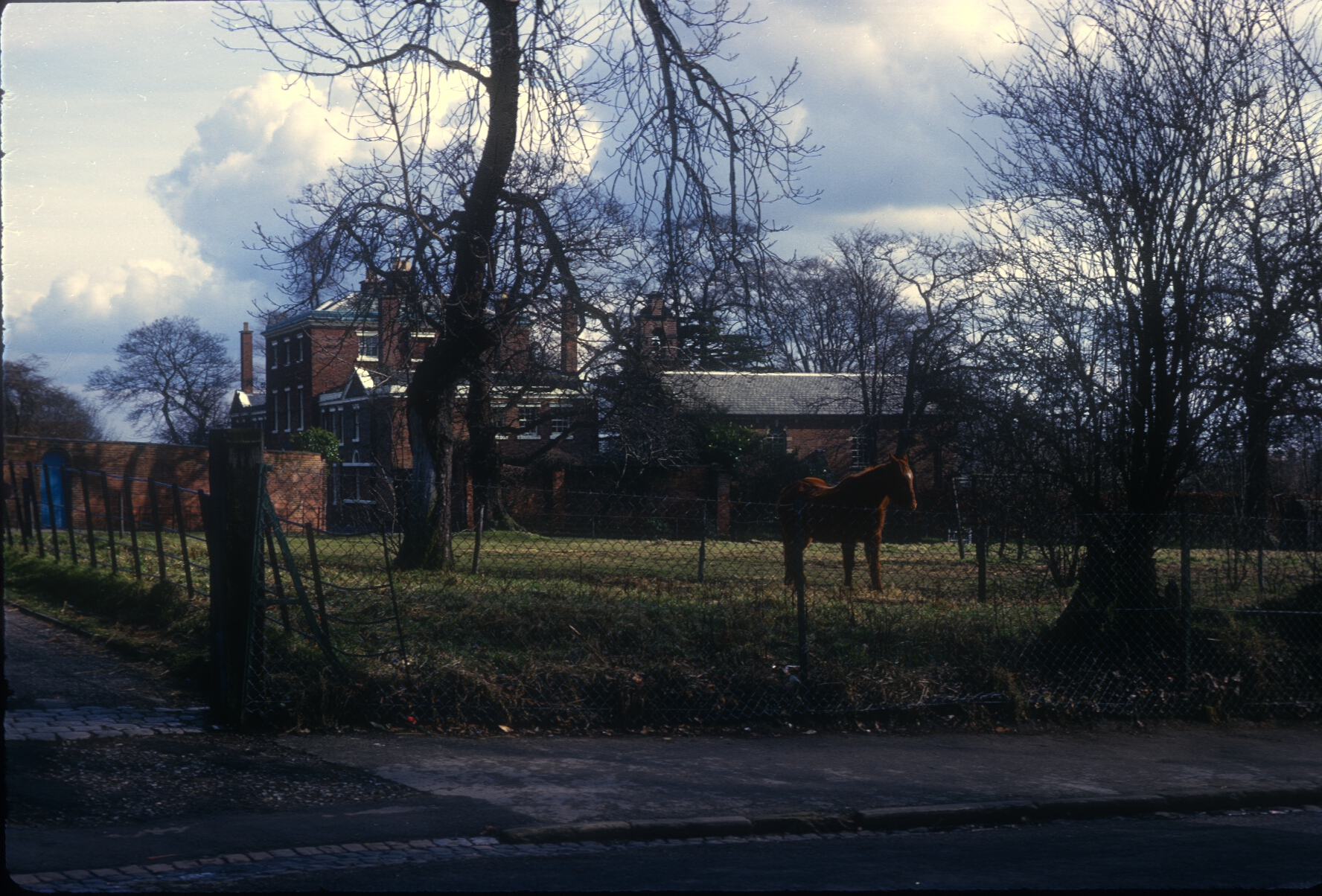 Harborne Bishop of Birmingham's House, Bishop's Croft, Old Church Road (Late 18th Century) 26th February 1967