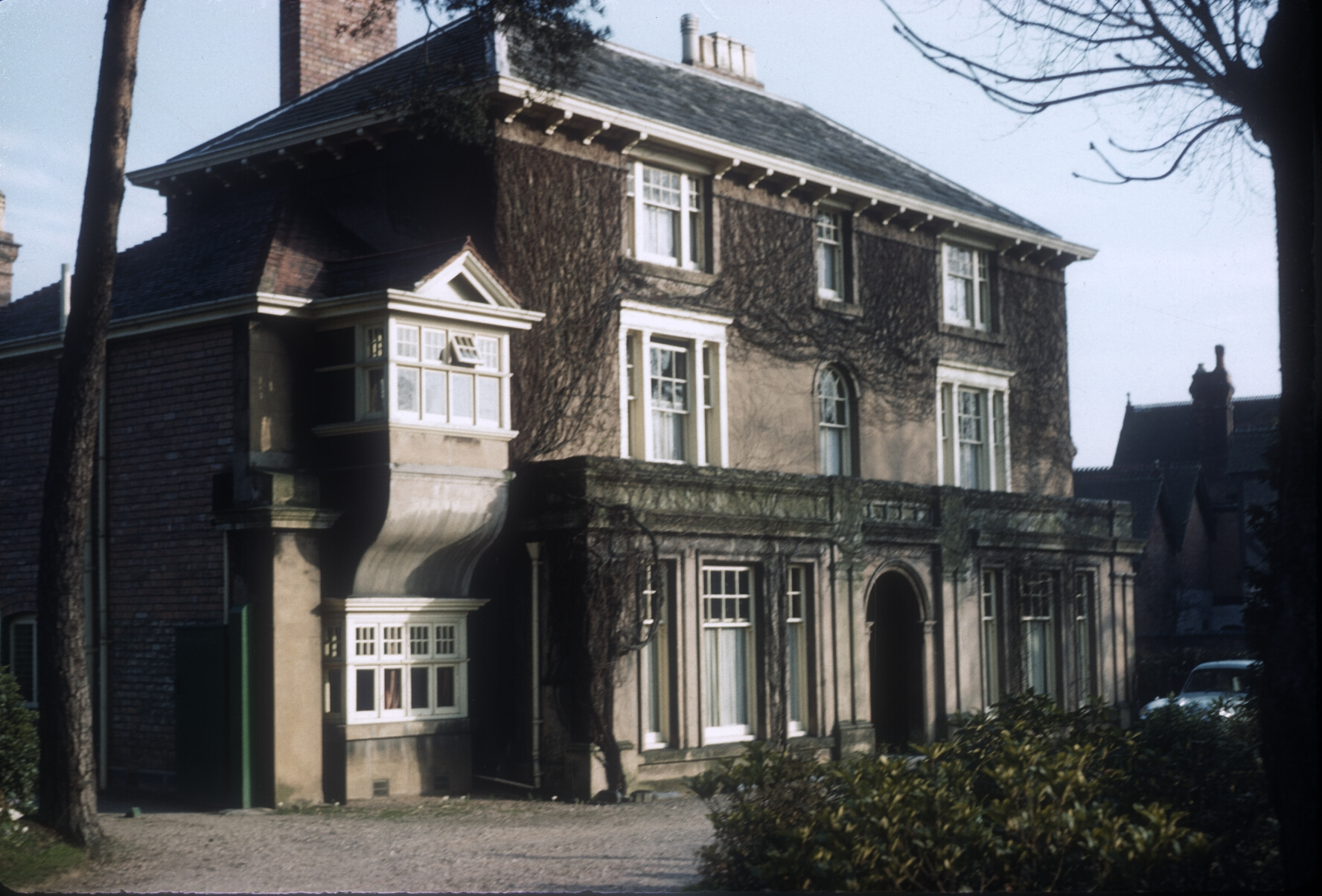 Harborne Field House, 110 Harborne Park Road. 6th March 1961