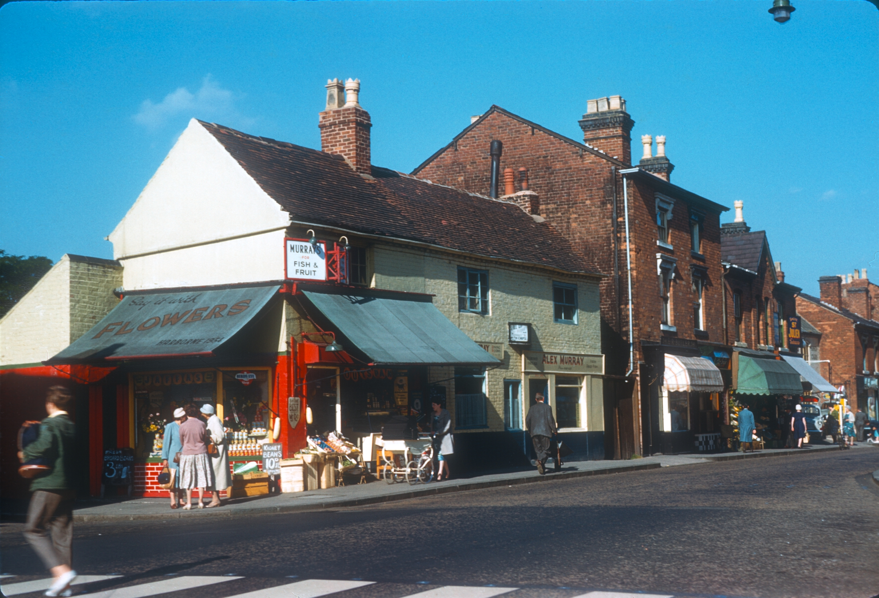 Harborne High Street - Corner of Serpentine Road. 17th August 1961