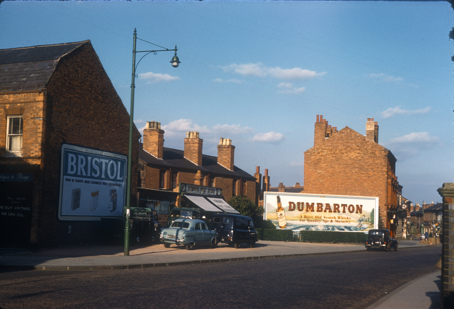 Harborne High Street, Terrace between Ravenhurst Road (Left) and Station Road. 12th August 1961