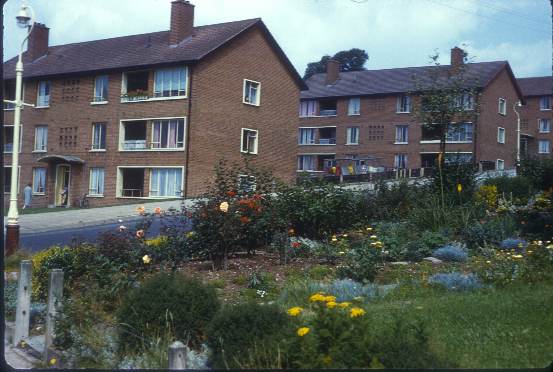 Harborne Hillyfields Estate, Ferncliffe Road. 12th August 1960