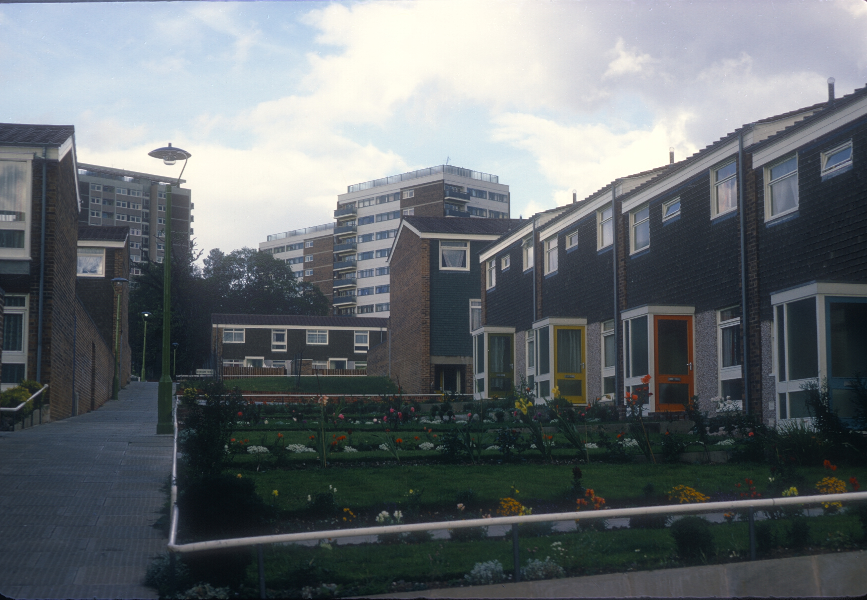 Harborne Metchley Grange Municipal Estate, Bantock Walk. 6th September 1967