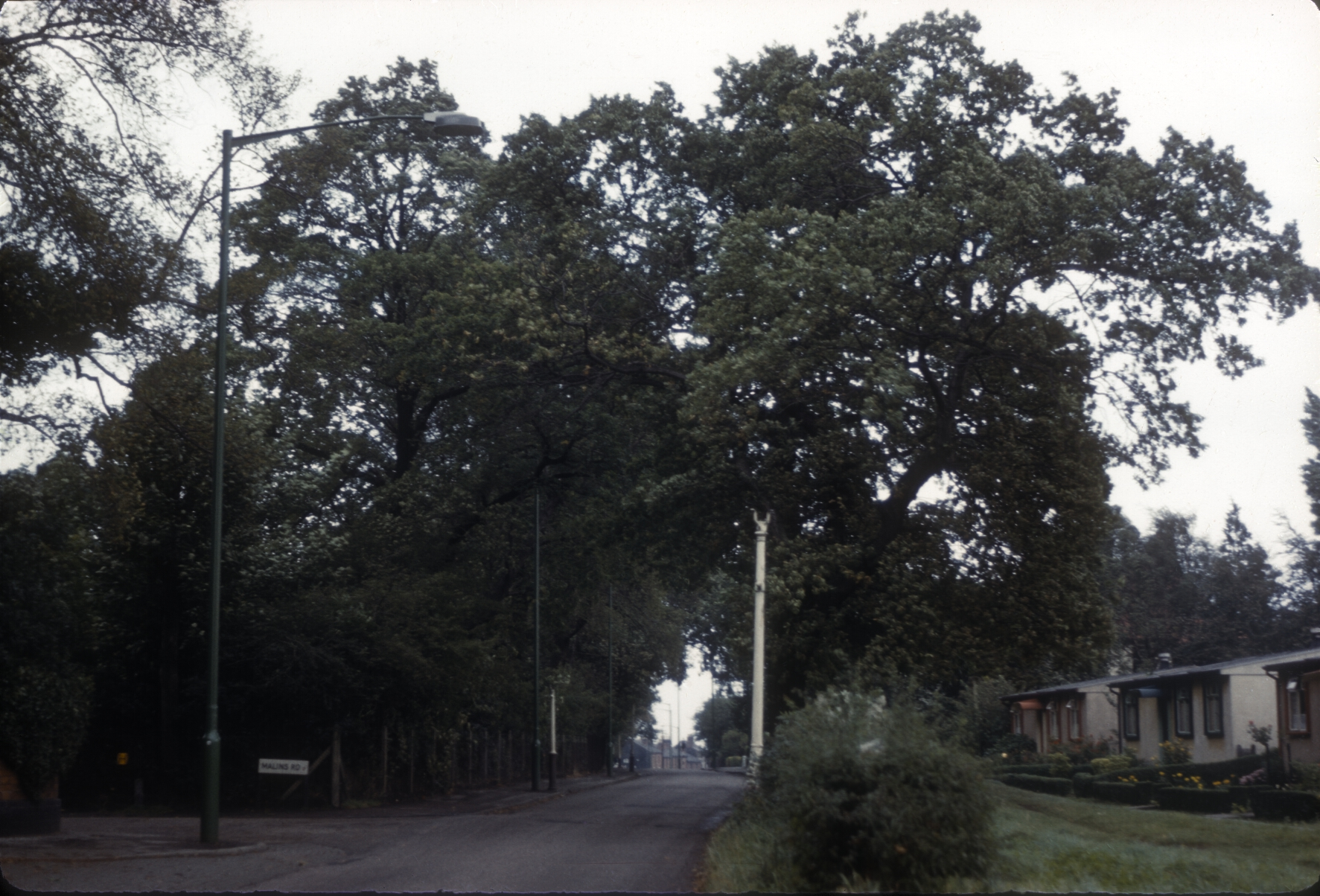 Harborne Metchley Lane, Parish Building. 28th September 1961